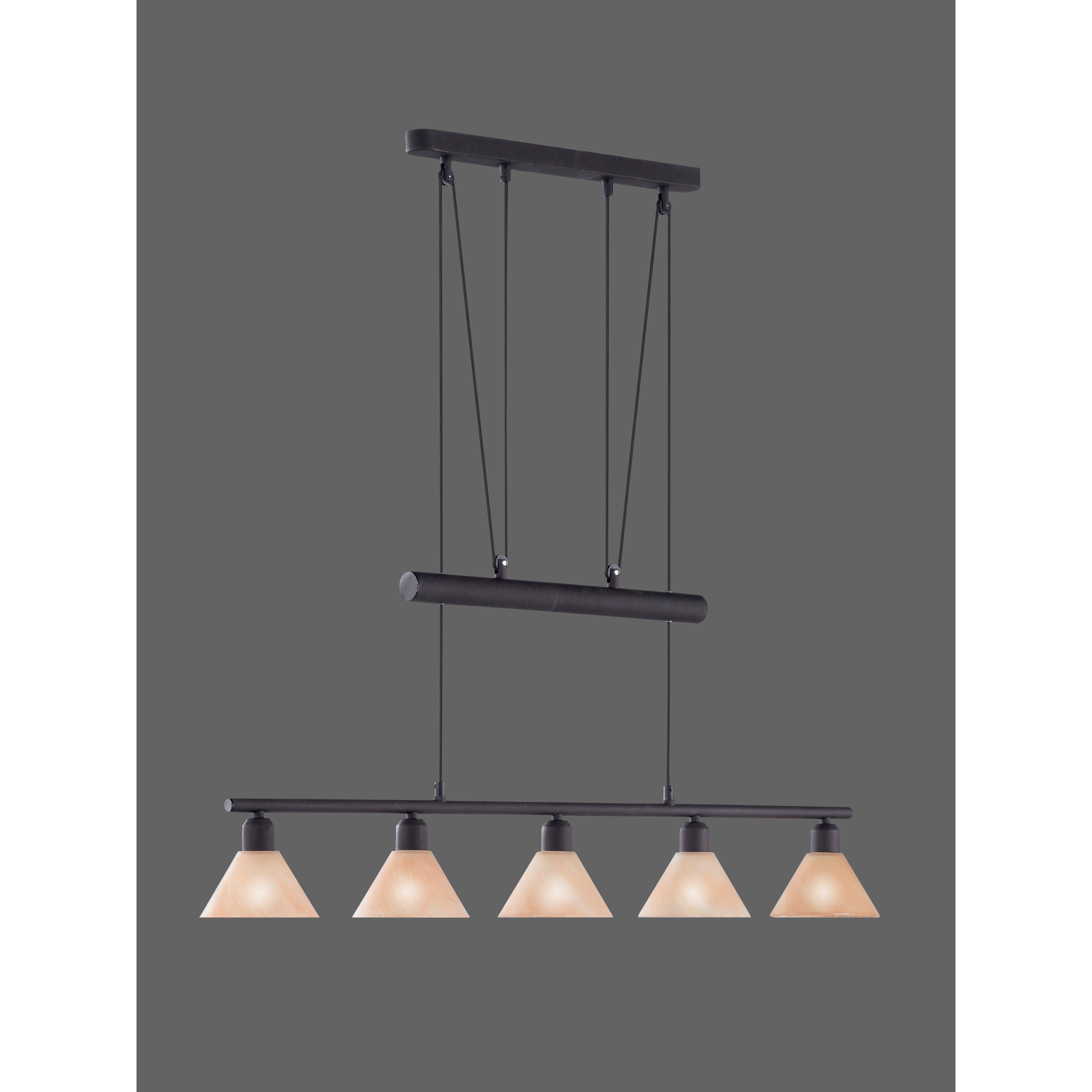 mini pendelleuchte 5 flammig von trio. Black Bedroom Furniture Sets. Home Design Ideas