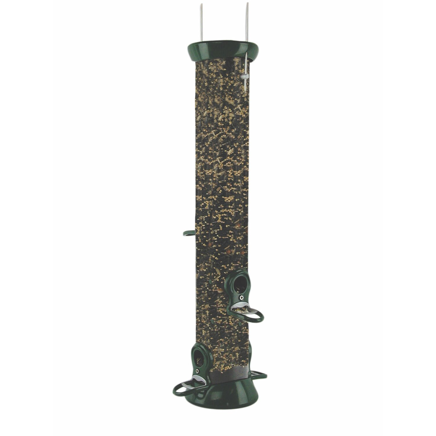 50 Quart 4 Perches Clever Clean Tube Bird Feeder by Birds Choice