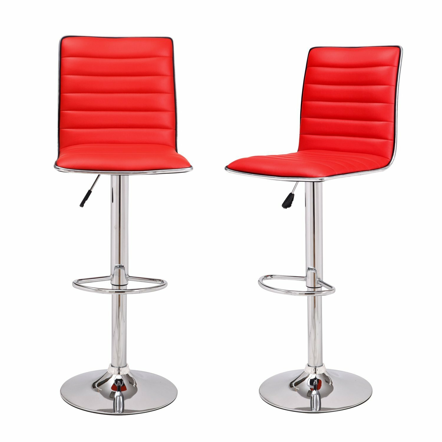 AdecoTrading Adjustable Height Swivel Bar Stool amp Reviews  : Adeco2BClassy2BAdjustable2BHeight2BSwivel2BBar2BStool2Bwith2BCushion from www.wayfair.com size 1500 x 1500 jpeg 141kB