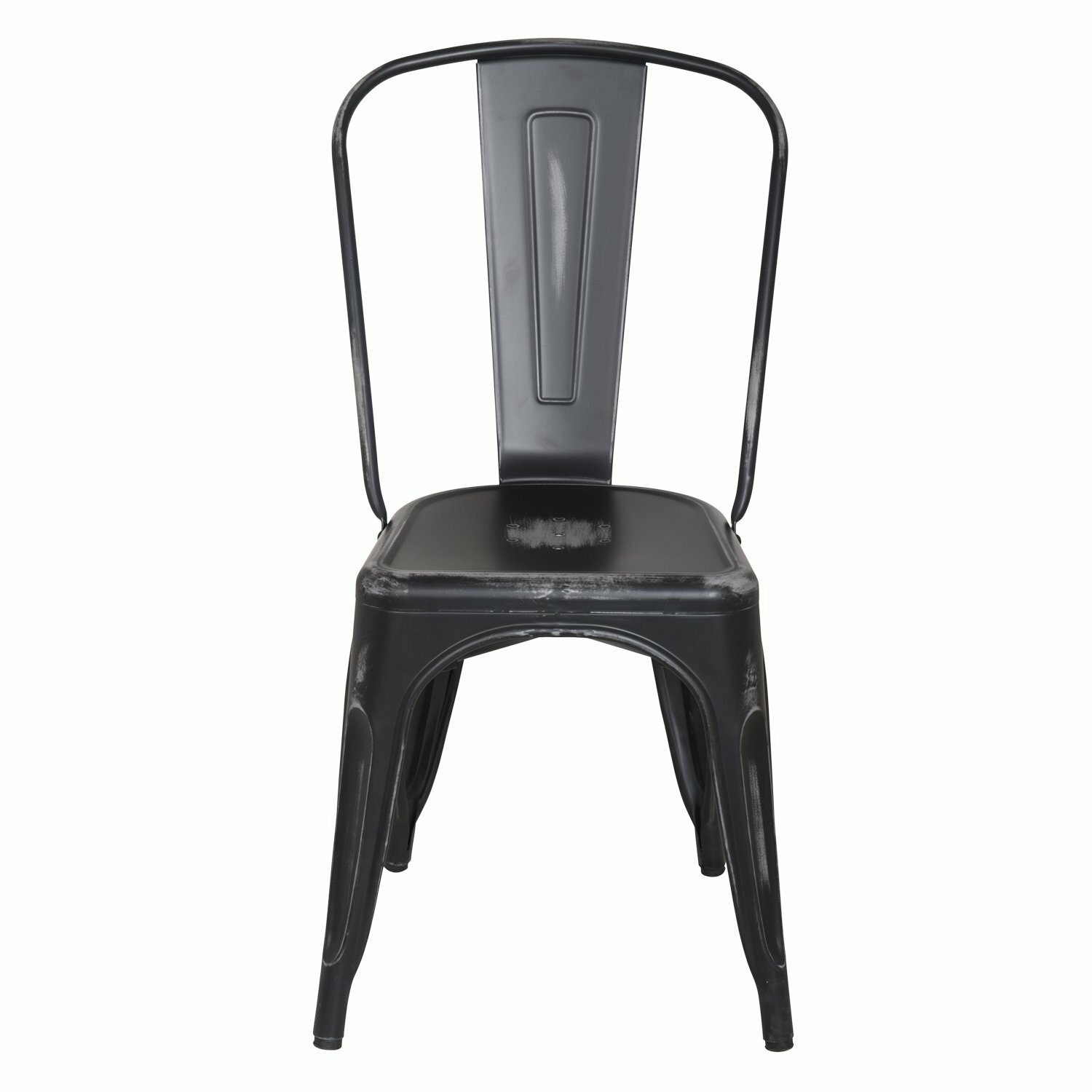 Stackable dining side chair wayfair for Stackable dining room chairs