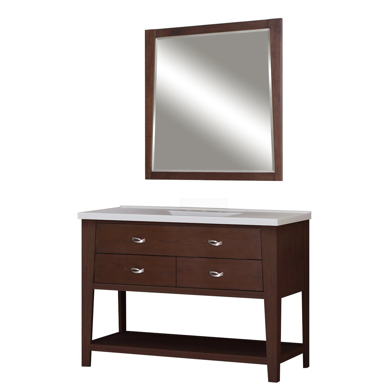 premier tops 49 bathroom vanity top with integrated basin by sunny
