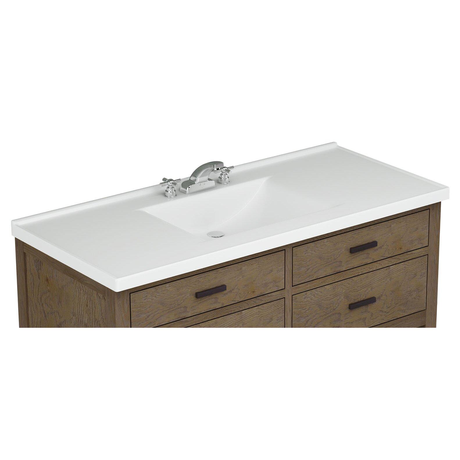 premier tops 49 bathroom vanity top with integrated basin. Black Bedroom Furniture Sets. Home Design Ideas