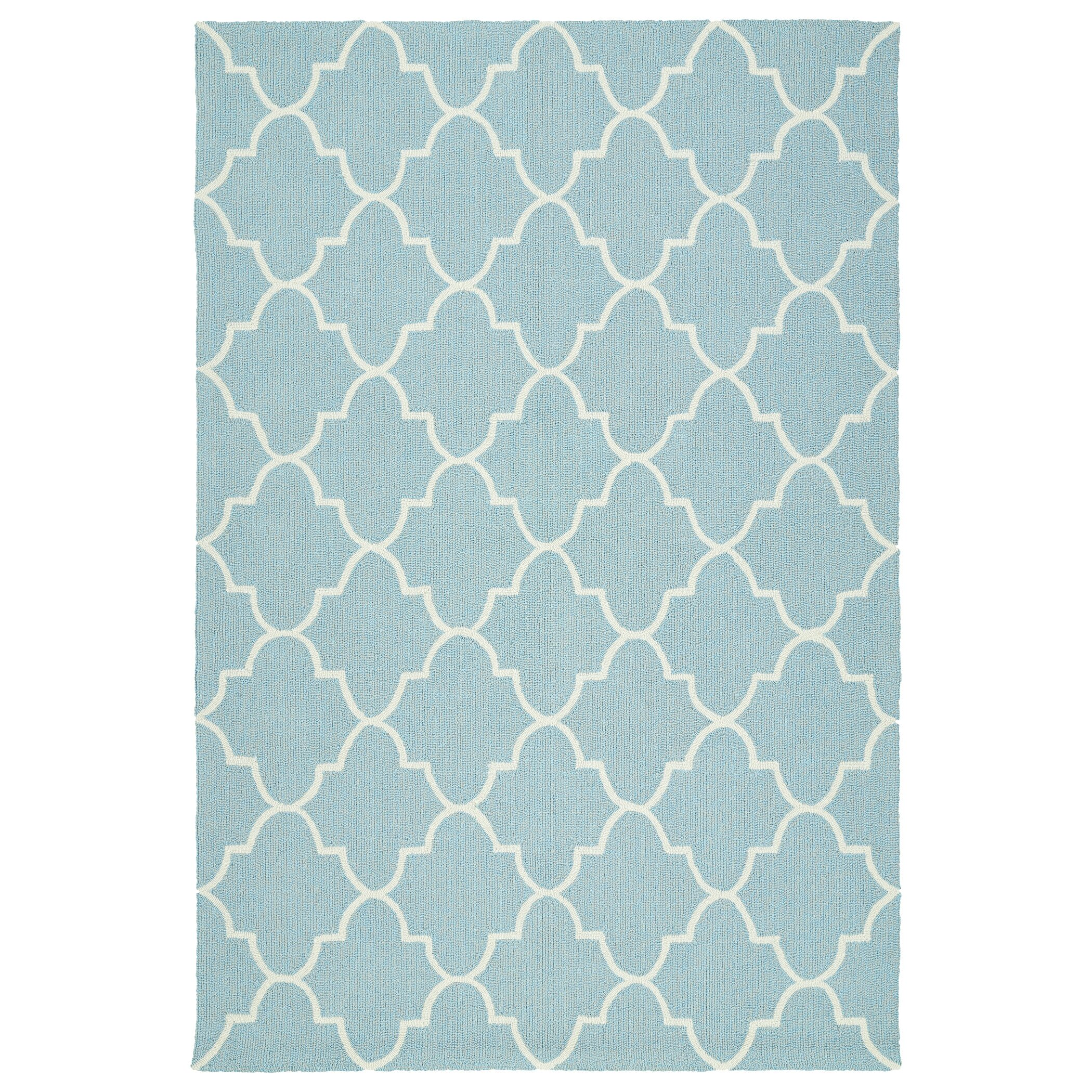 Escape Blue Indoor Outdoor Area Rug