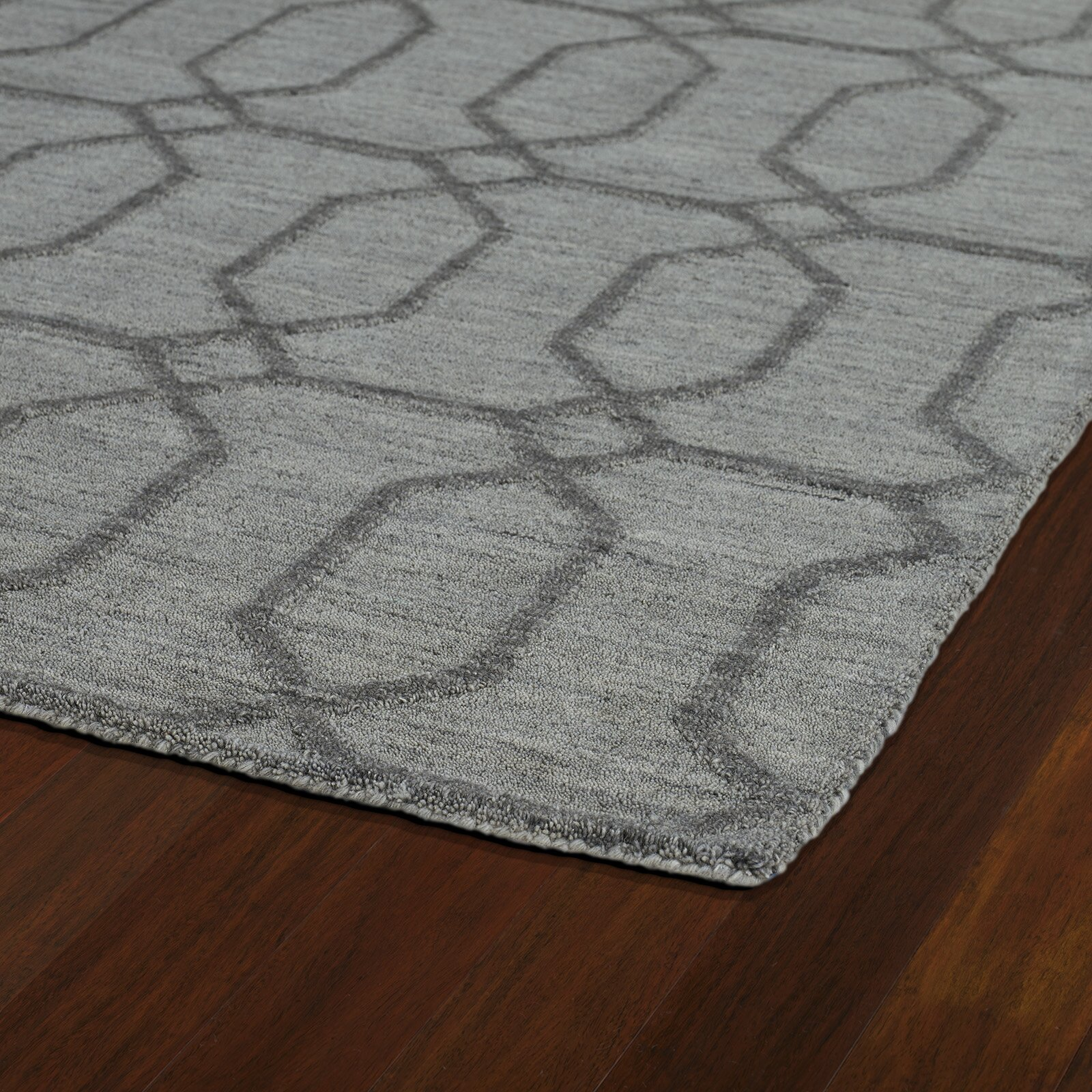 kaleen imprints modern grey geometric area rug reviews. Black Bedroom Furniture Sets. Home Design Ideas