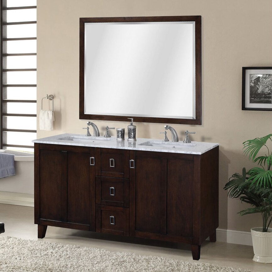 in 32 series 60 double sink bathroom vanity set by infurniture