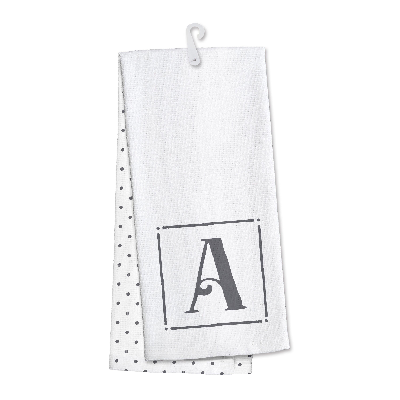 Occasionally Made Monogram Tea Towel  Reviews Wayfair