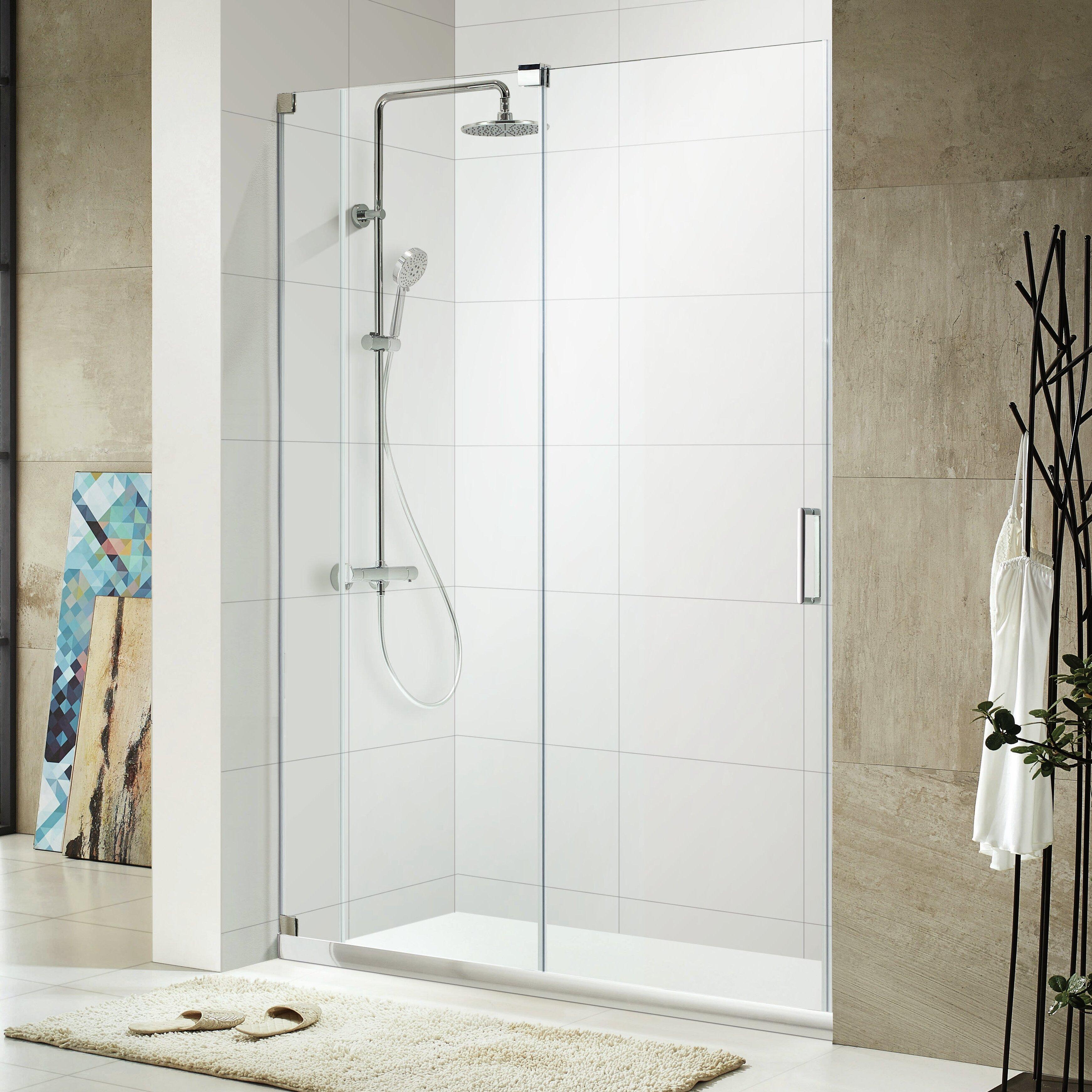 Oasis Lux 72 Quot X 44 48 Quot Frameless Sliding Shower Door