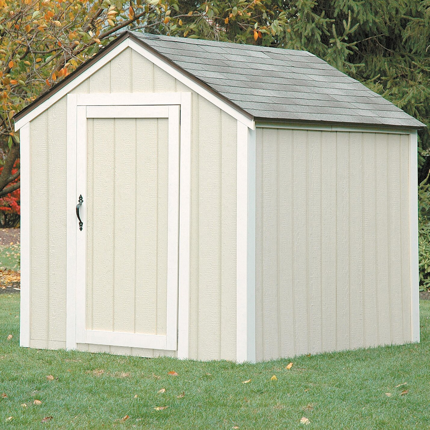 2x4 Basics Peak Roof Shed Kit Reviews Wayfair