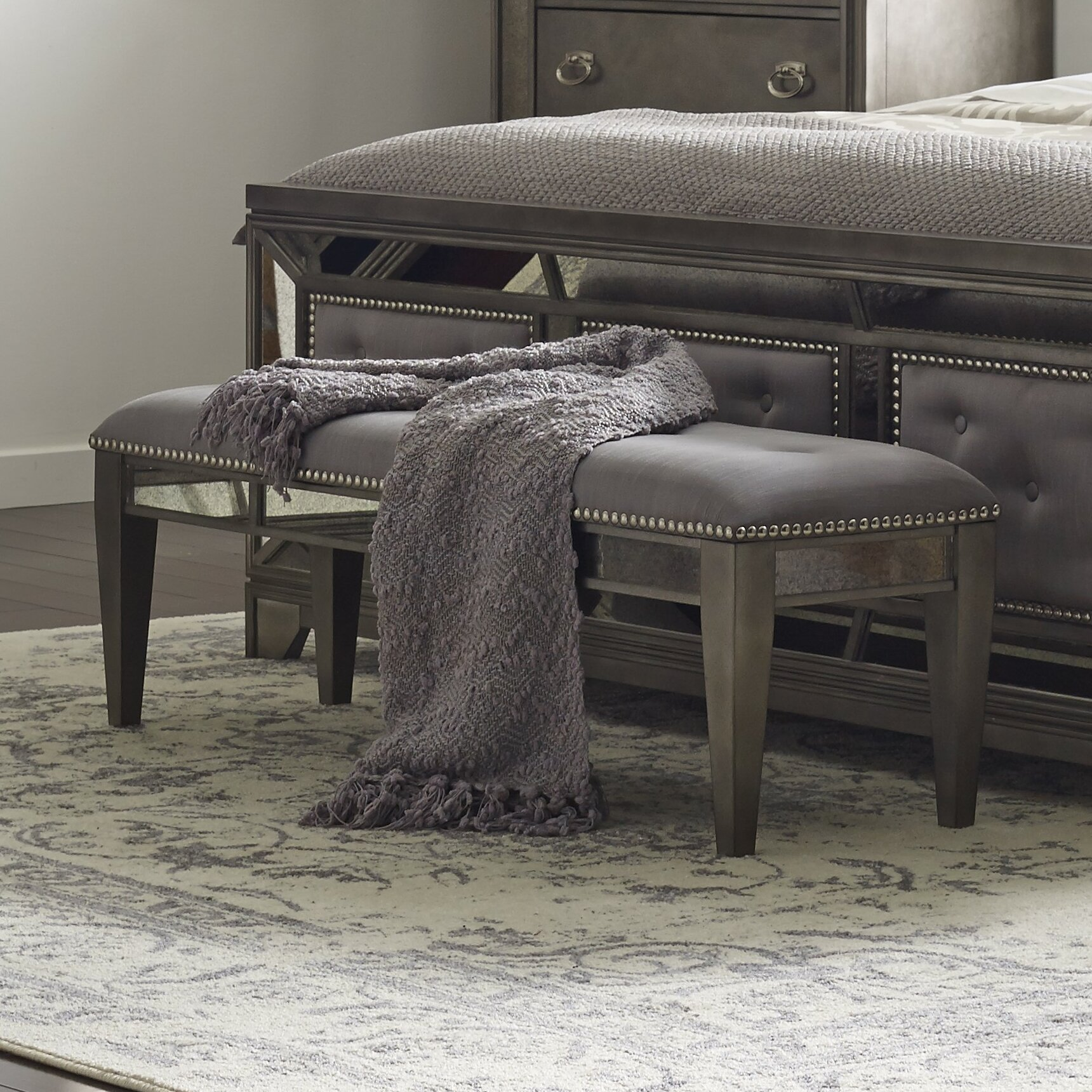 Avalon Furniture Lenox Bedroom Bench & Reviews