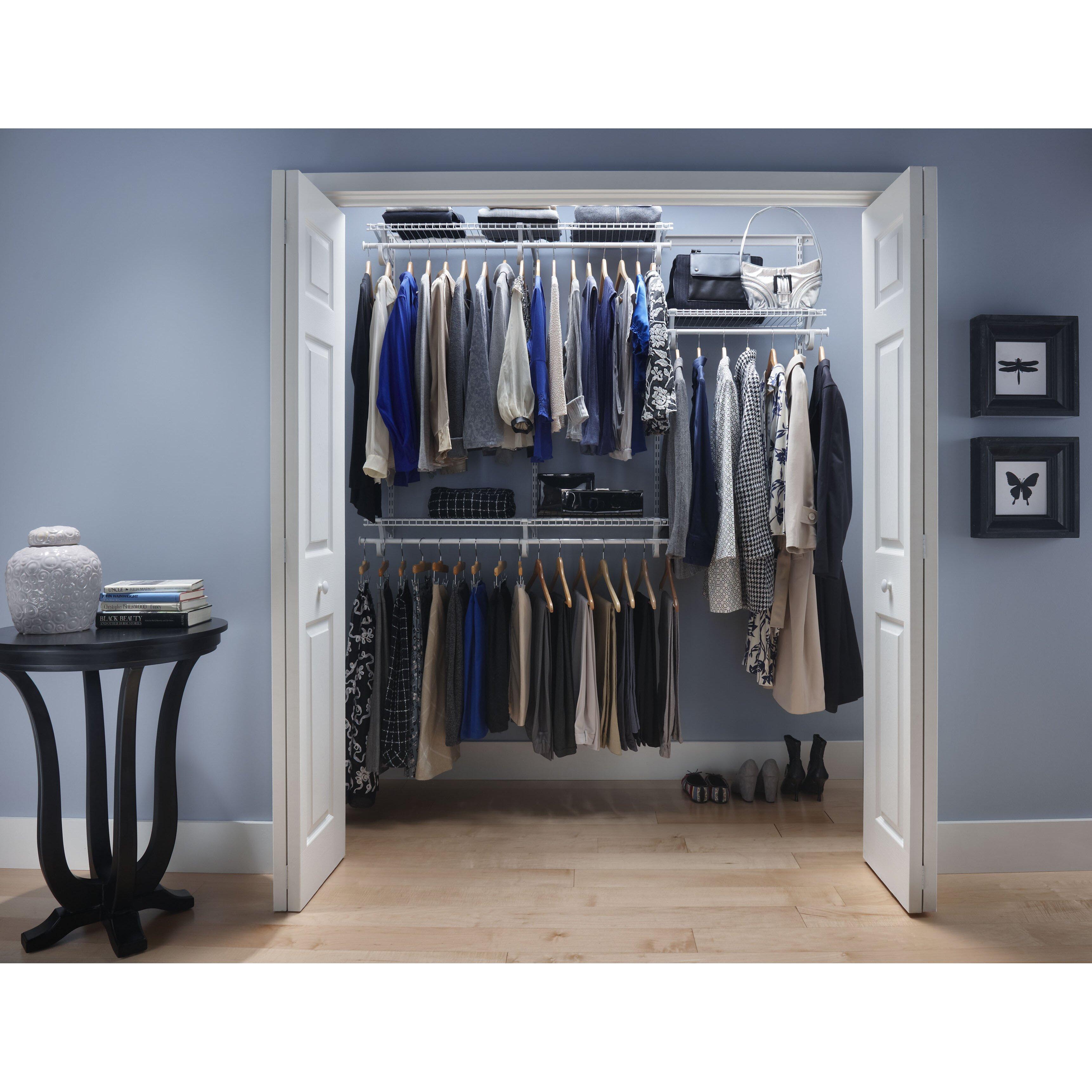 "72"" Wide Adjustable Closet"