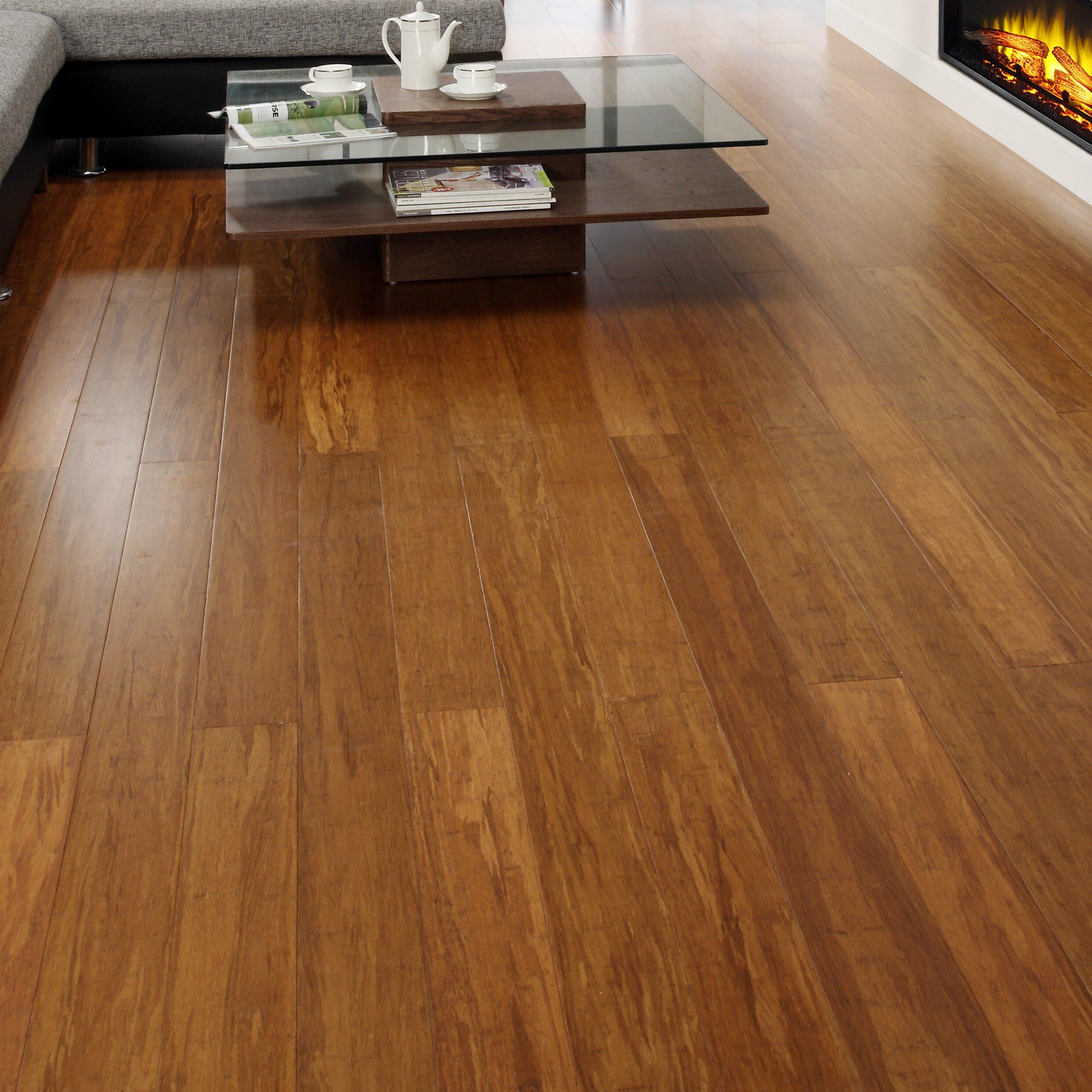 5 engineered strand woven bamboo hardwood flooring in