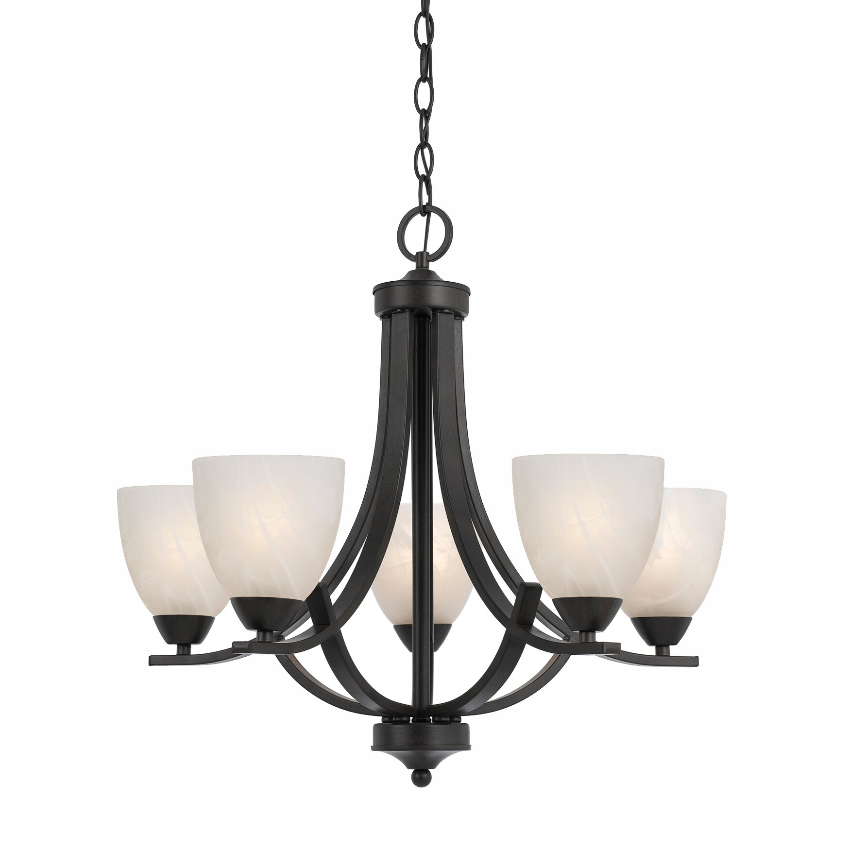 Wayfair Chandelier: Value 5 Light Chandelier