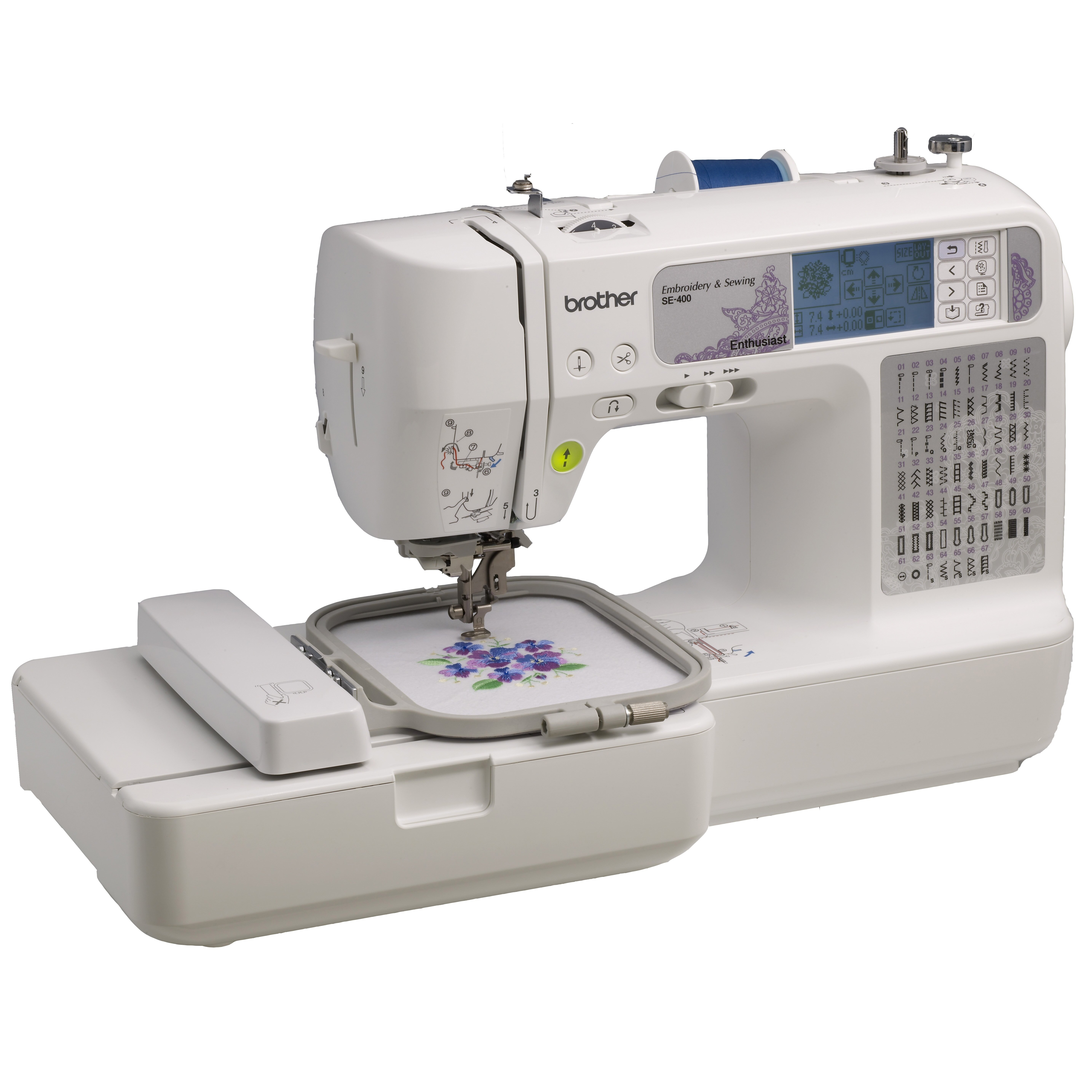 how much is a computerized embroidery machine
