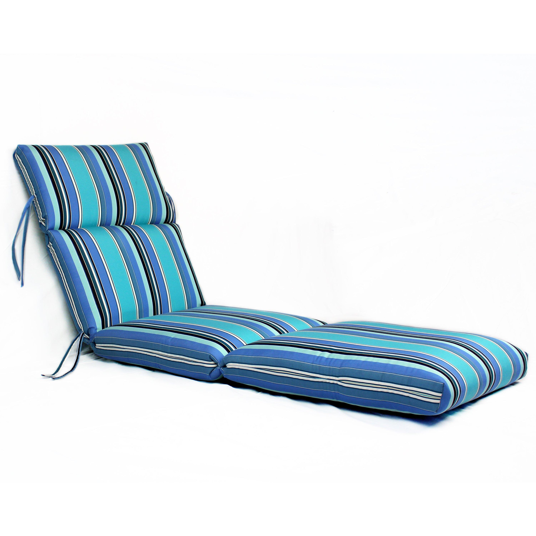 Outdoor sunbrella chaise lounge cushion for 23 w outdoor cushion for chaise