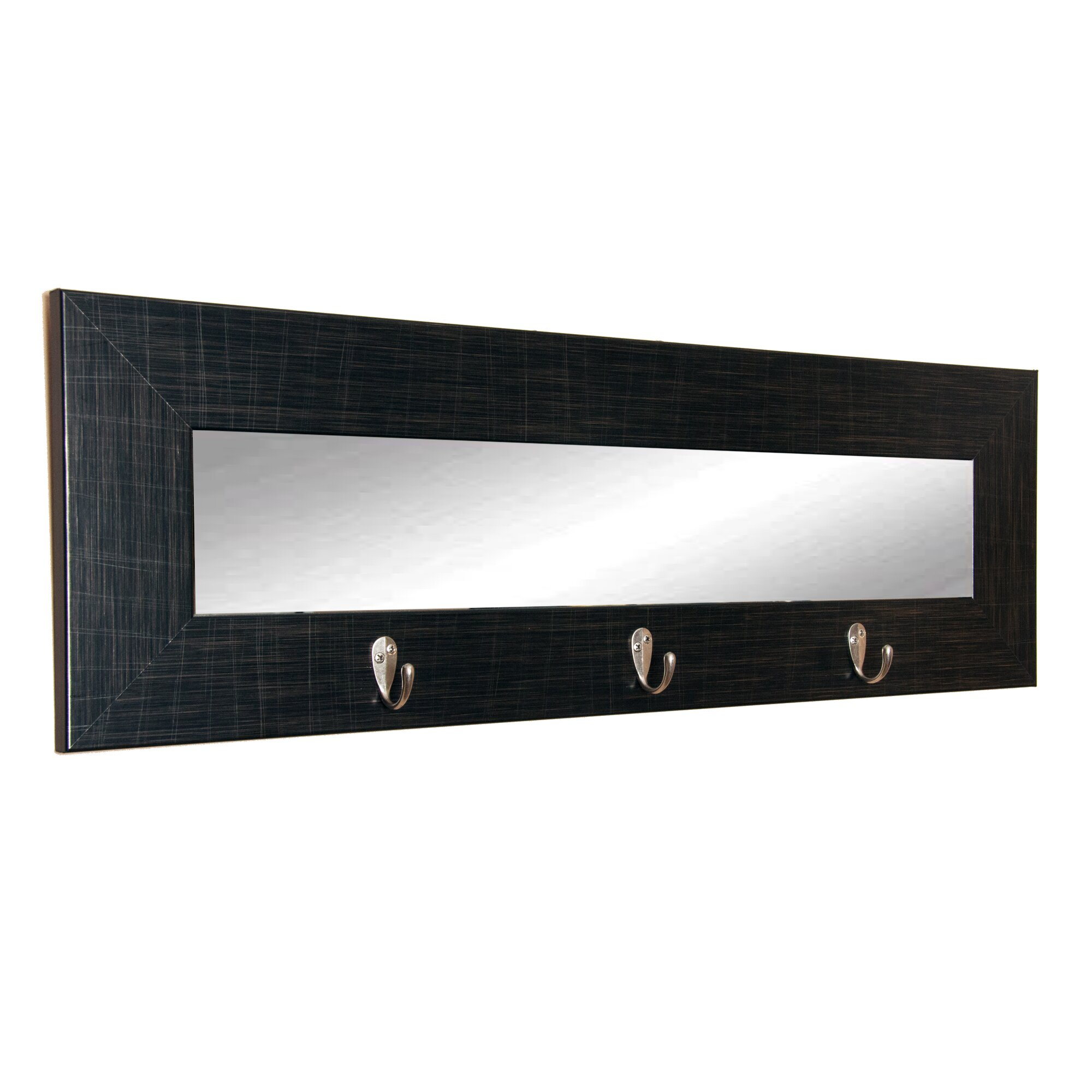 last look wall mirror with hook wayfair. Black Bedroom Furniture Sets. Home Design Ideas
