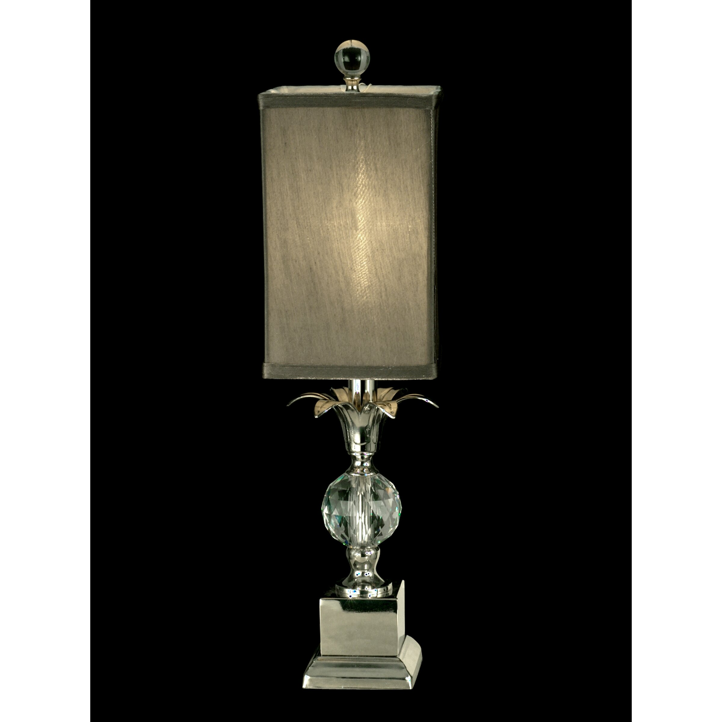 Table Lamp With Crystal Accents Best Inspiration For