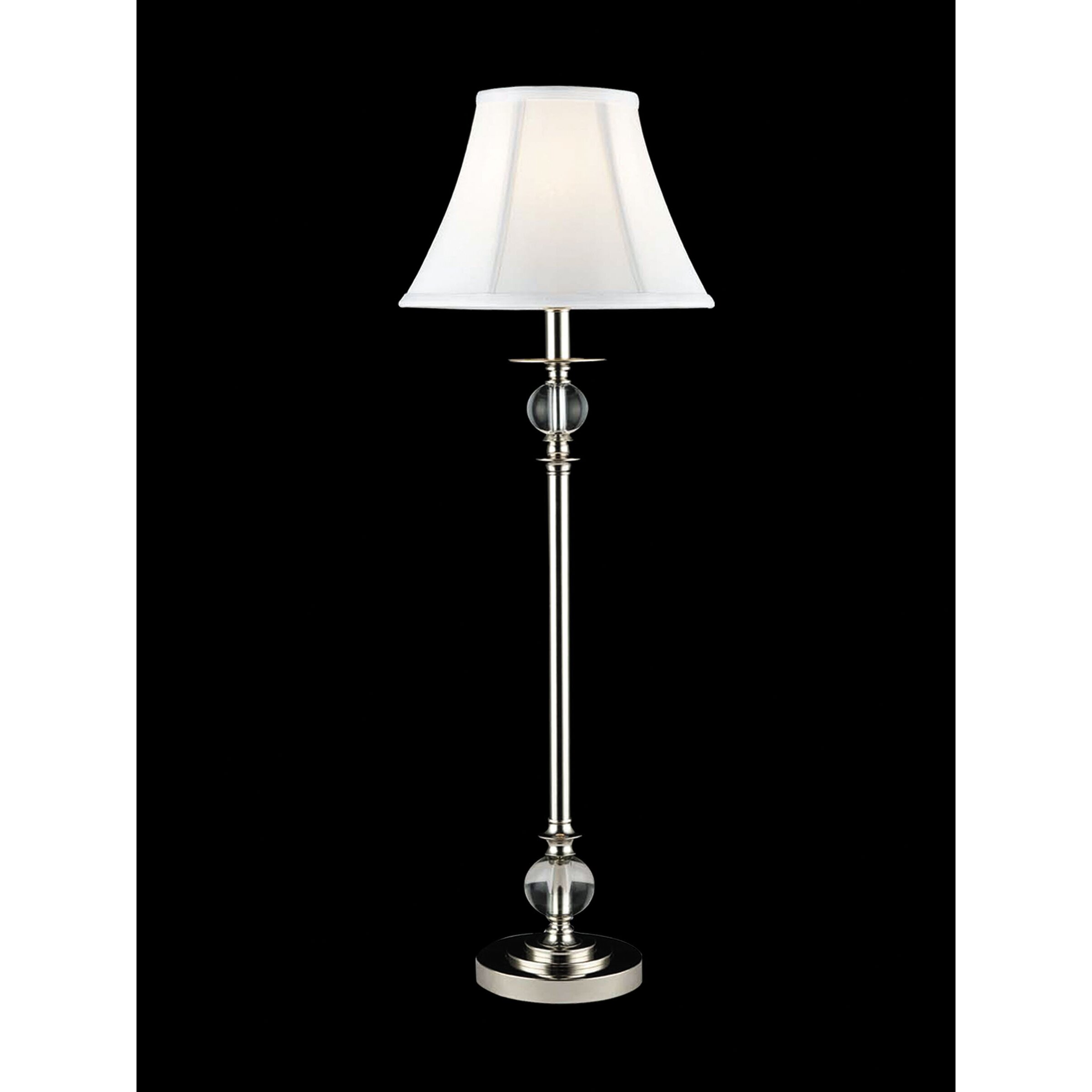 lighting lamps chrome table lamps dale tiffany sku dt2779. Black Bedroom Furniture Sets. Home Design Ideas