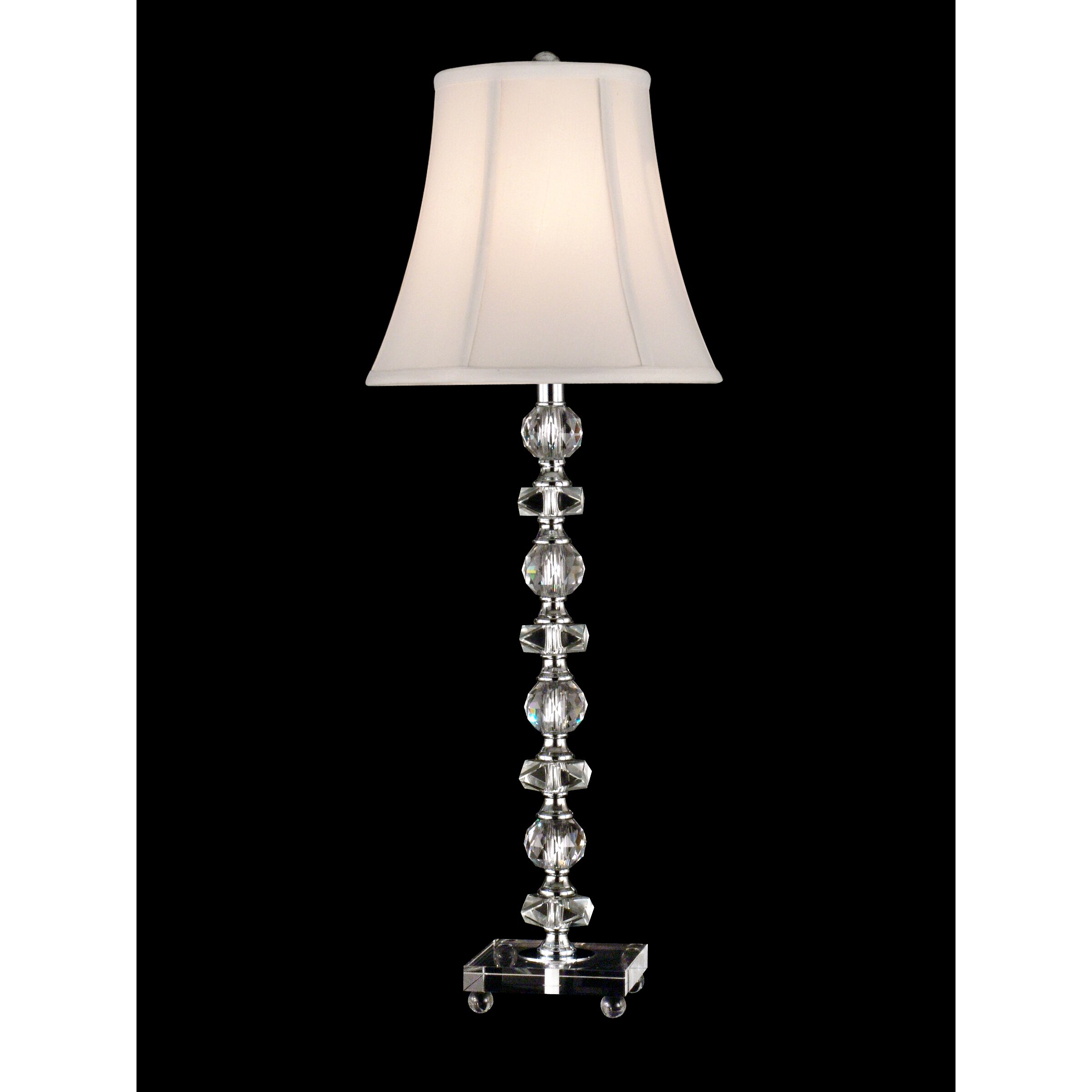 dale tiffany buffet simon 28 5 h table lamp with bell shade revie. Black Bedroom Furniture Sets. Home Design Ideas