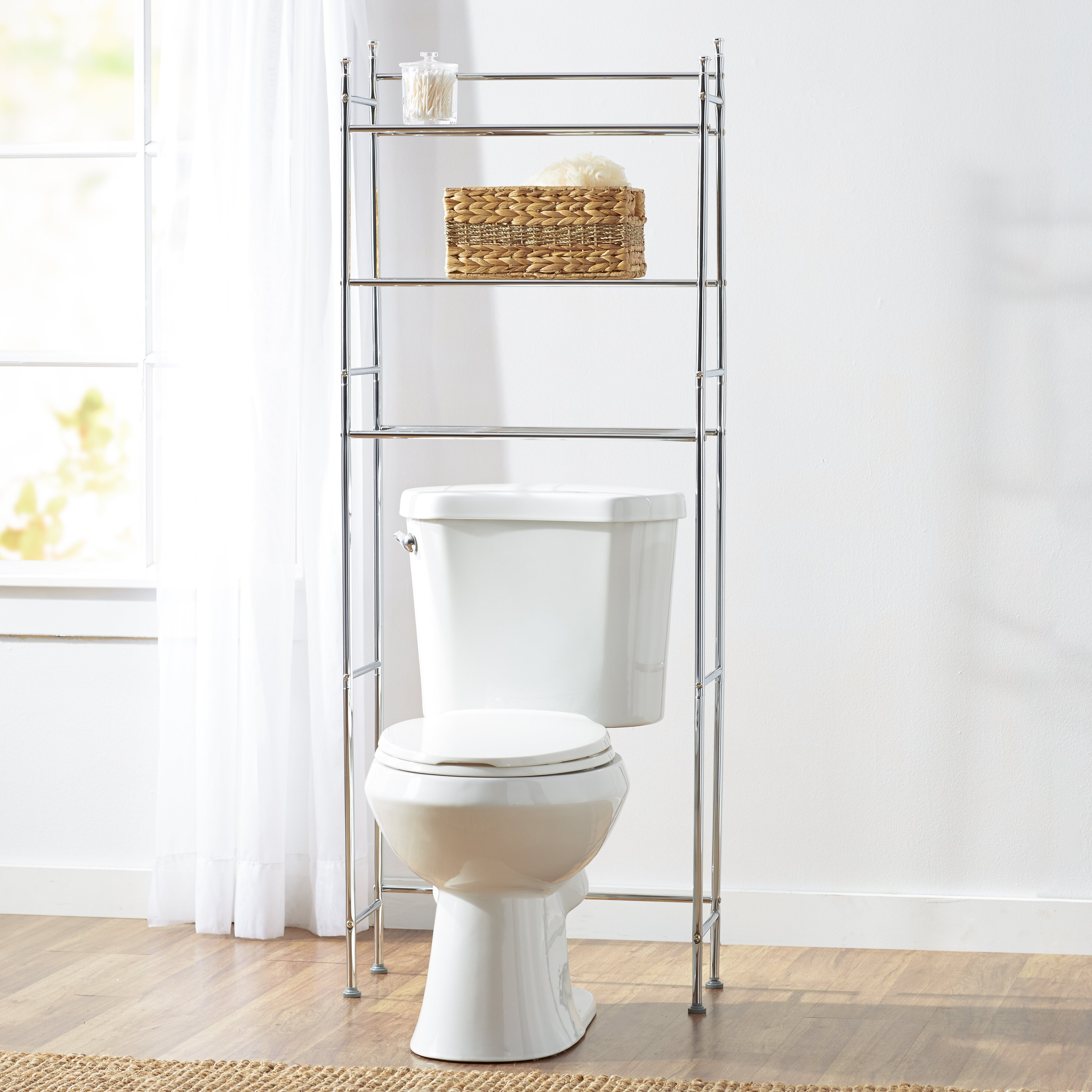wayfair basics wayfair basics over the toilet storage