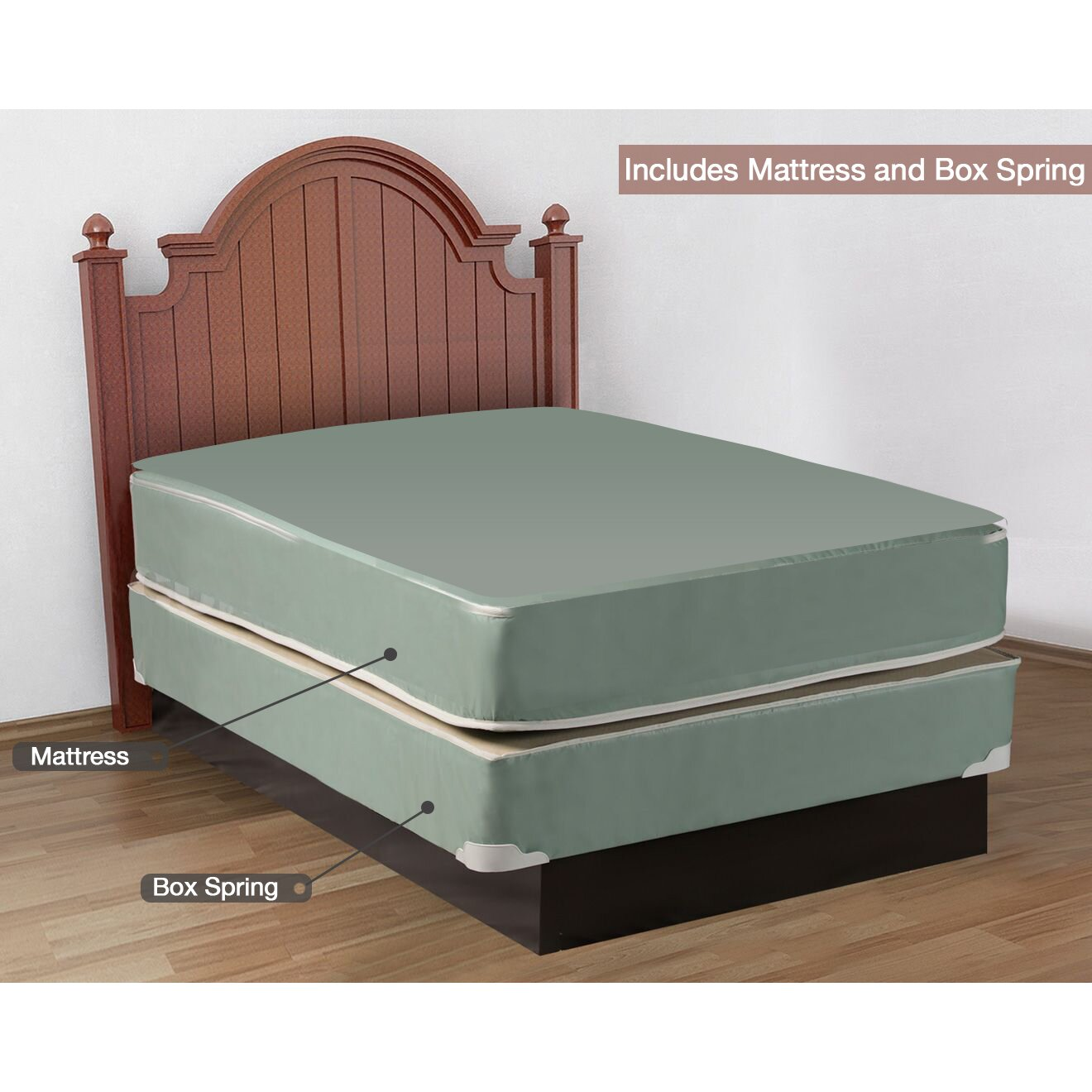 spinal solution 15 mattress with box spring reviews. Black Bedroom Furniture Sets. Home Design Ideas