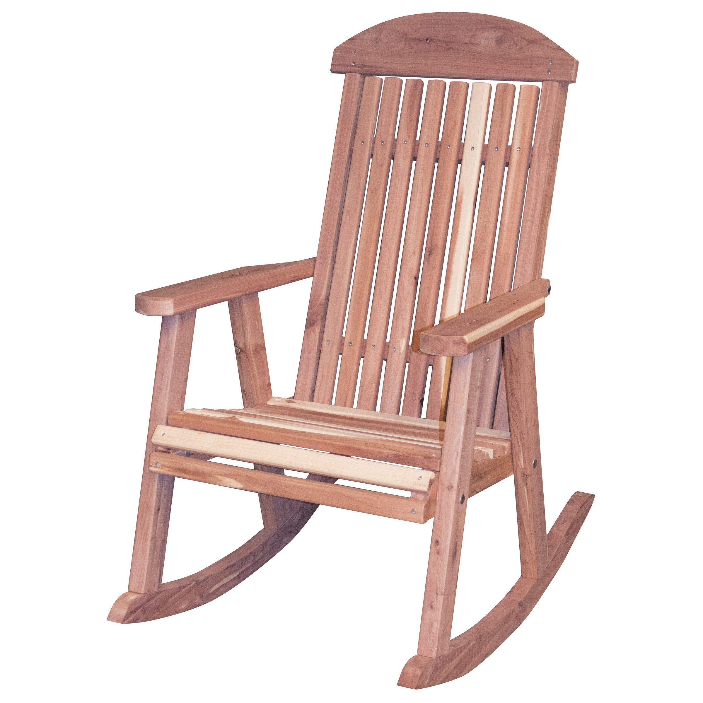 Outdoor Patio Furniture ... Wood Patio Rocking Chairs AmeriHome SKU ...