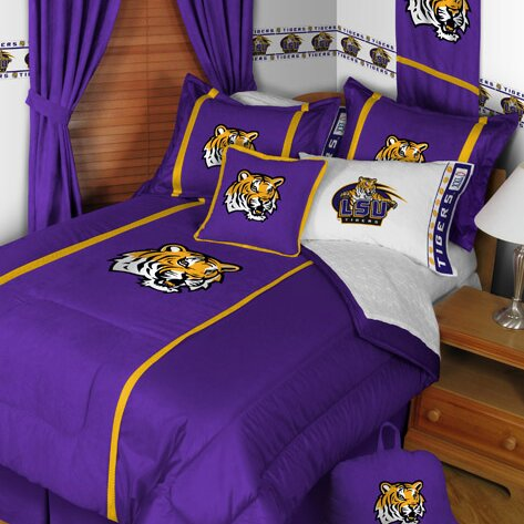 Sports Coverage Ncaa Lsu Sidelines Comforter Reviews