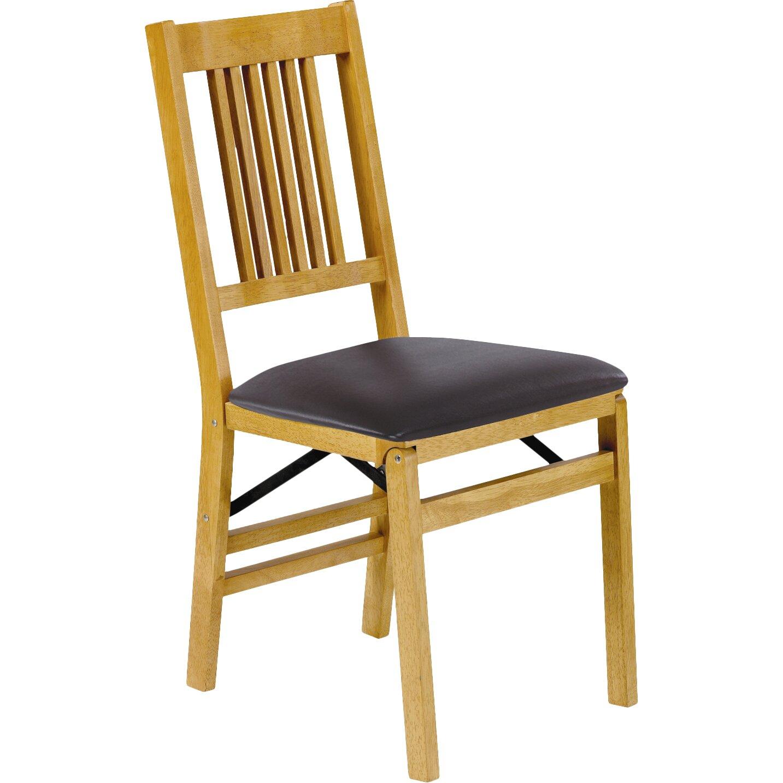 True Mission Wood Folding Chair Wayfair