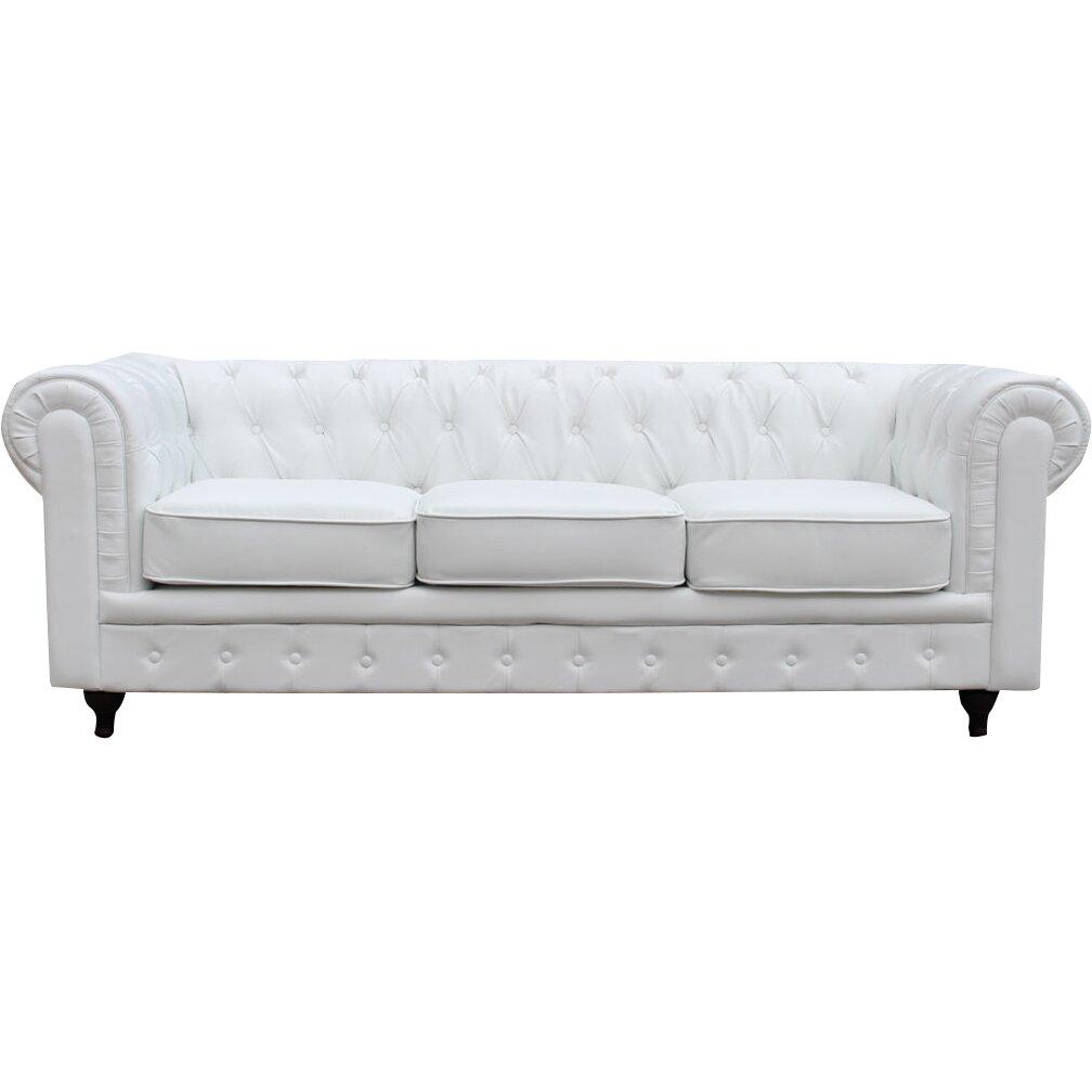 Madison home usa chesterfield sofa reviews wayfairca for Chesterfield sofa bed usa