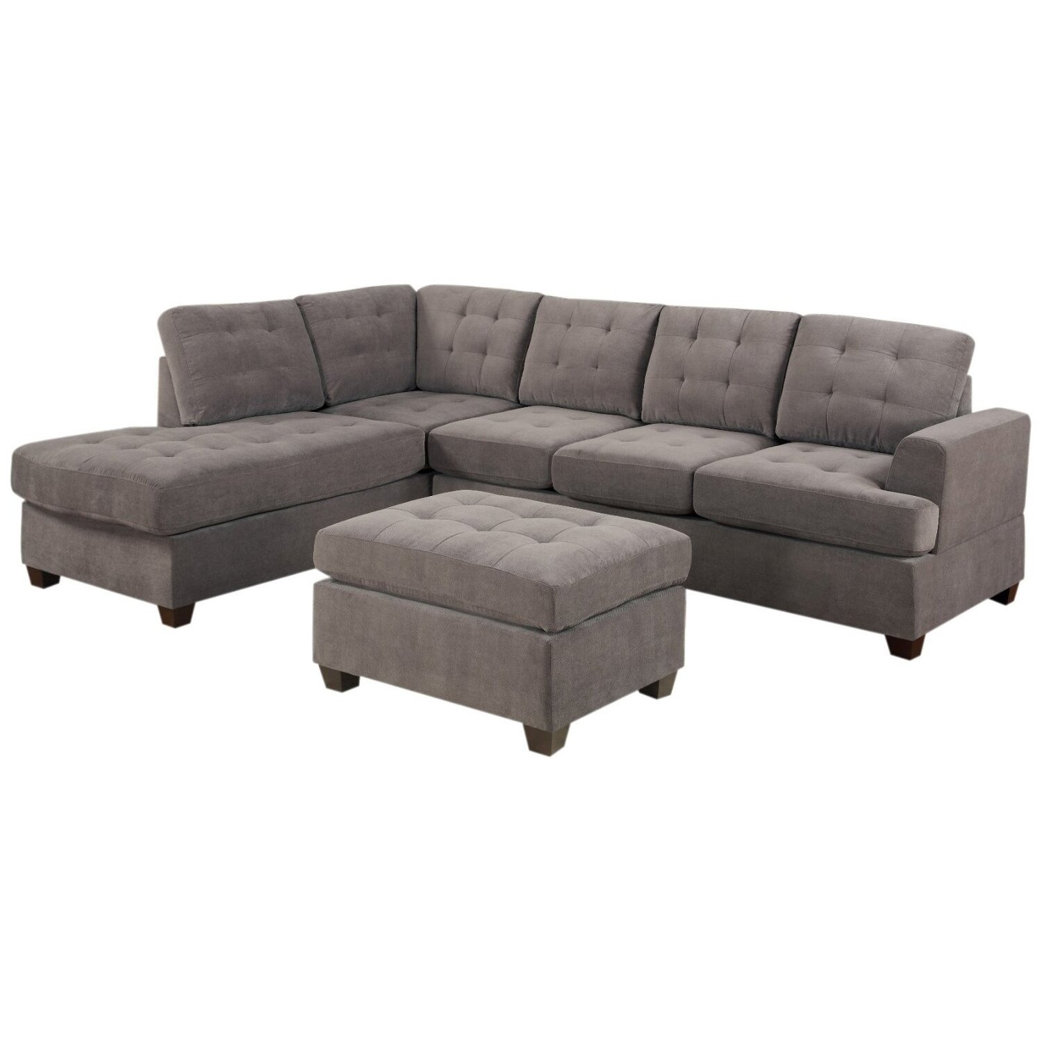 Old Rock Reversible Chaise Sectional Wayfair : Old Rock Modular Sectional RDBS1759 from www.wayfair.com size 1500 x 1500 jpeg 180kB