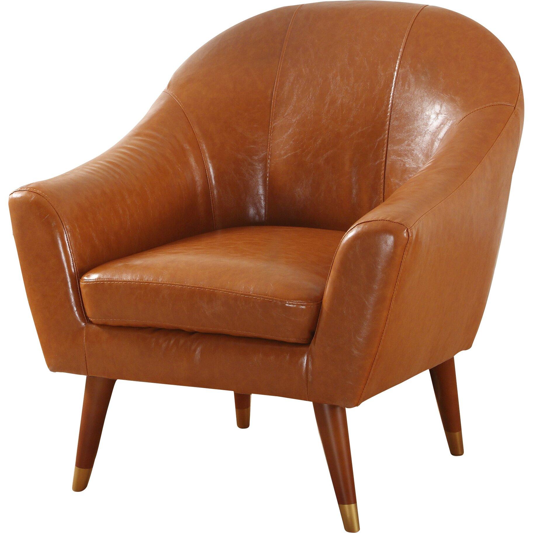 Mid century modern armchair wayfair for Mid century modern armchairs