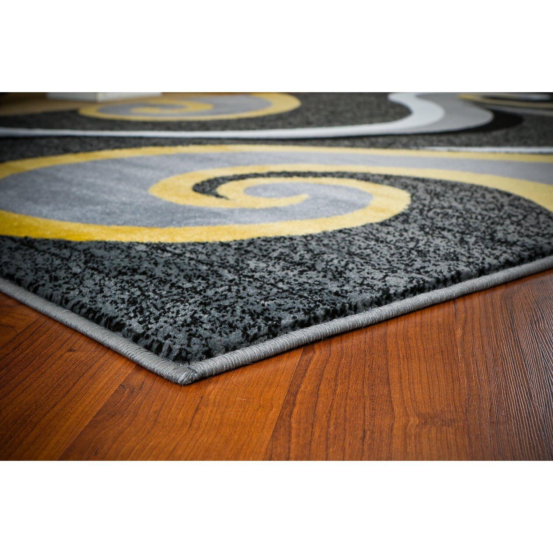 Persian-rugs Modern Yellow Area Rug & Reviews
