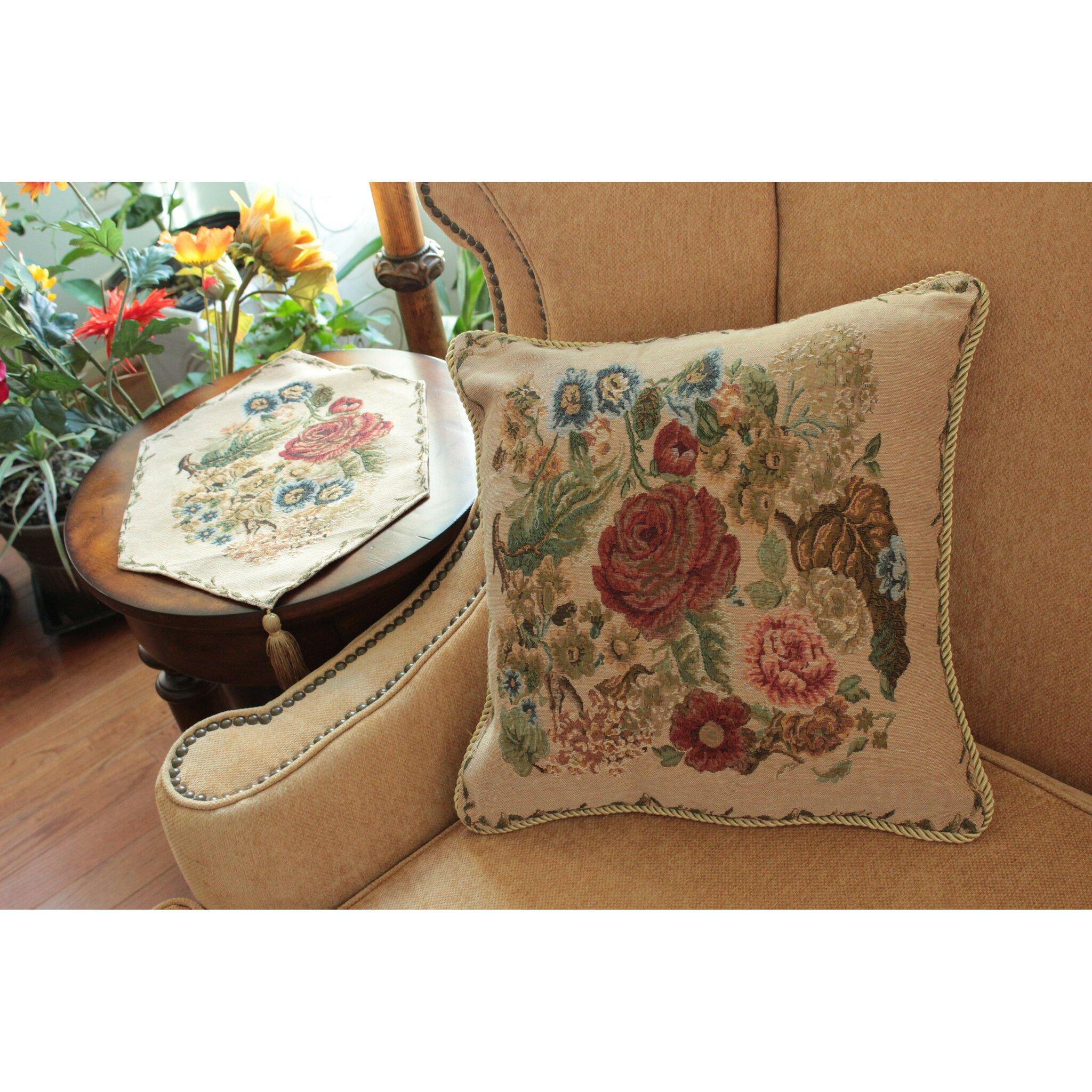 Tache Home Fashion Morning Meadow Throw Pillow Cushion Cover & Reviews Wayfair