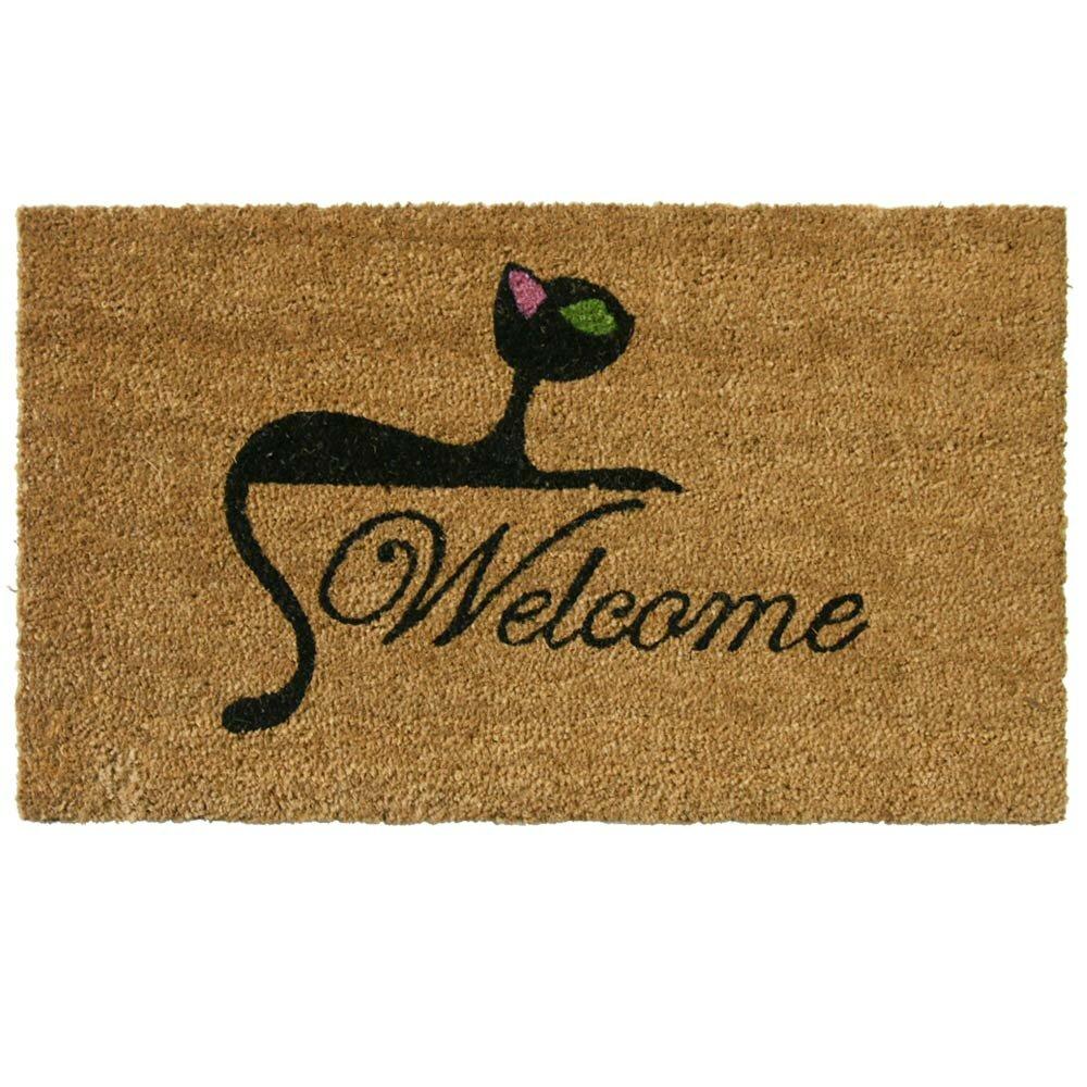 Kitty Cat Welcome Doormat