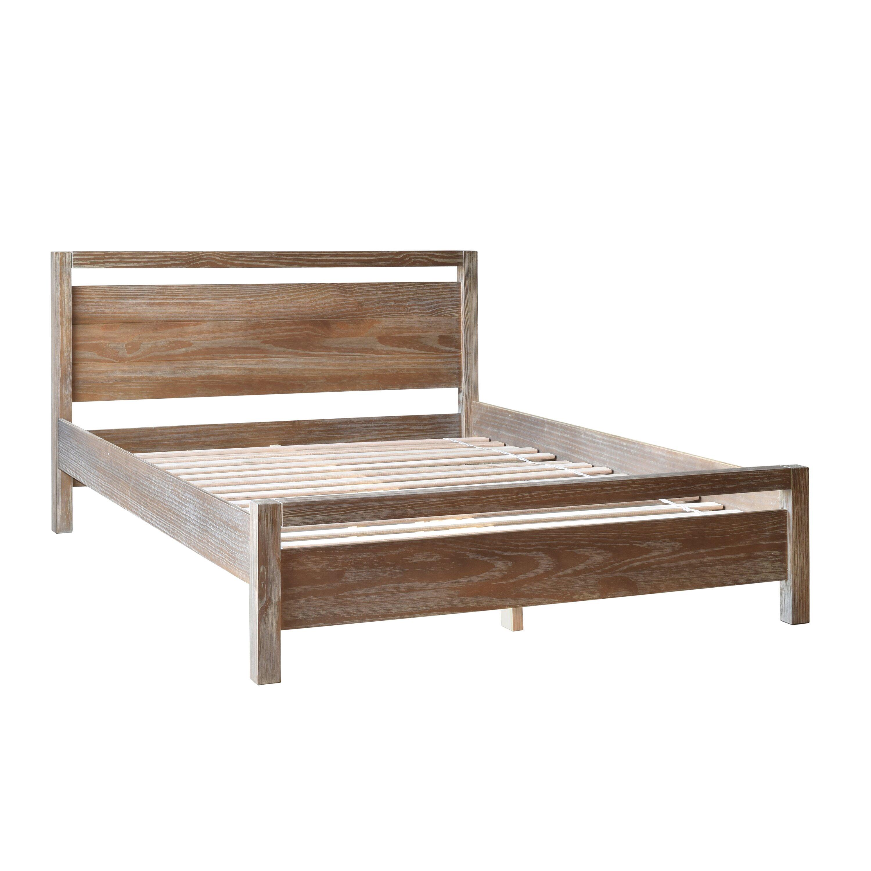 wander through 4f3527 grain wood furniture loft queen platform bed u0026 reviews wayfair with