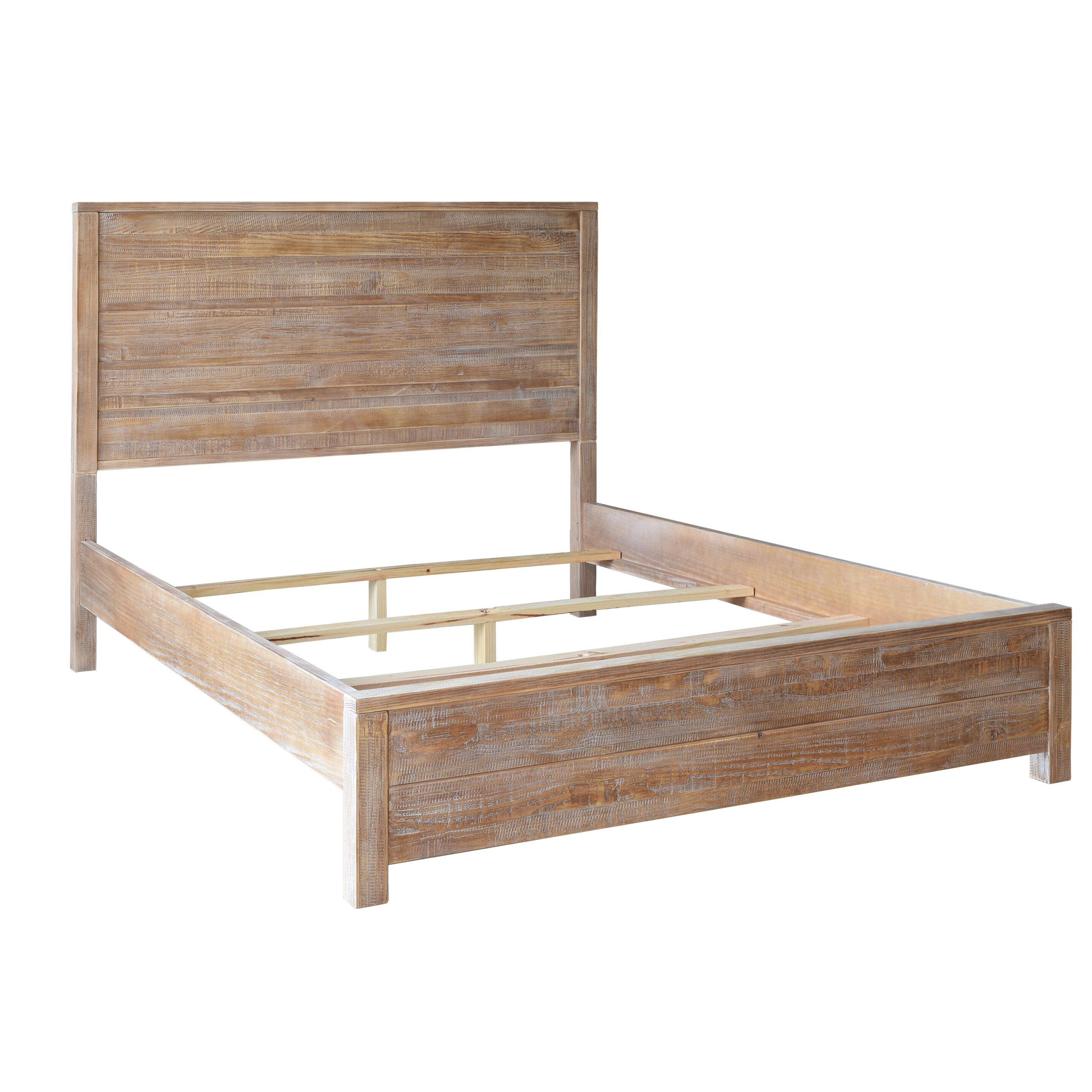 Furniture Stunning Display Of Wood Grain In A: Grain Wood Furniture Montauk Panel Bed & Reviews
