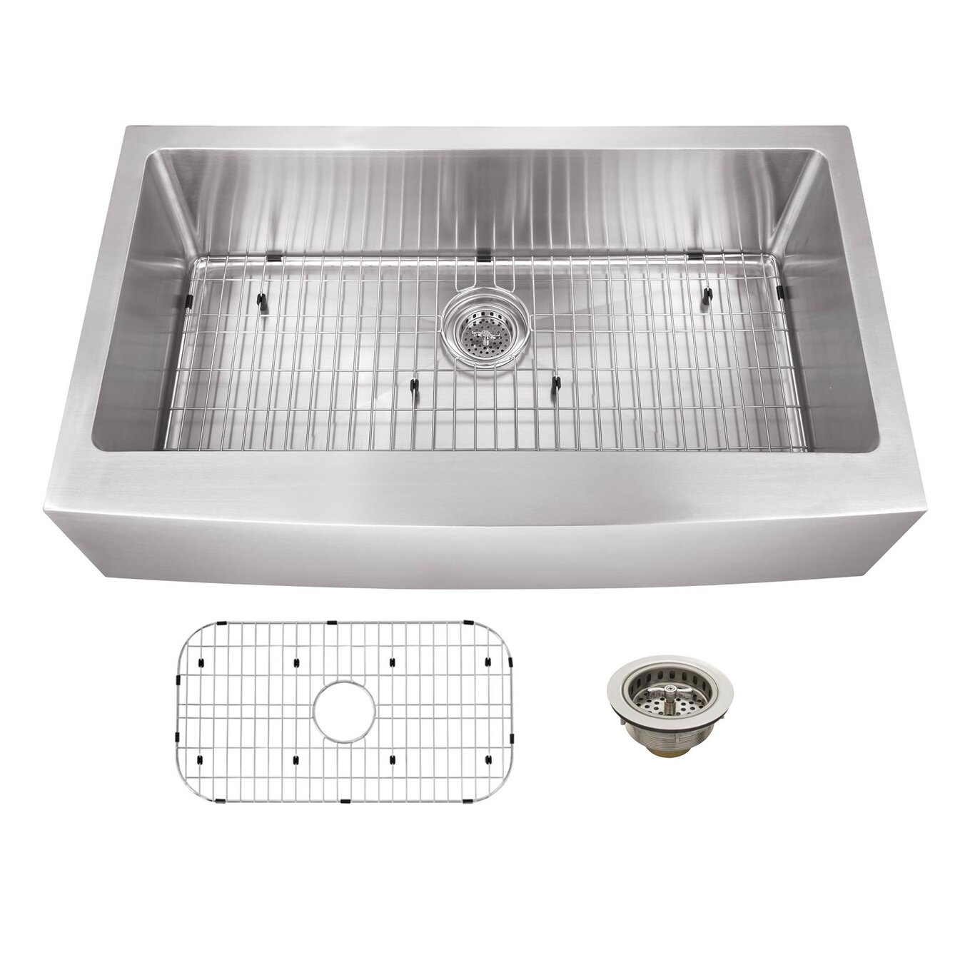Apron Front Stainless Steel Kitchen Sink : ... 20