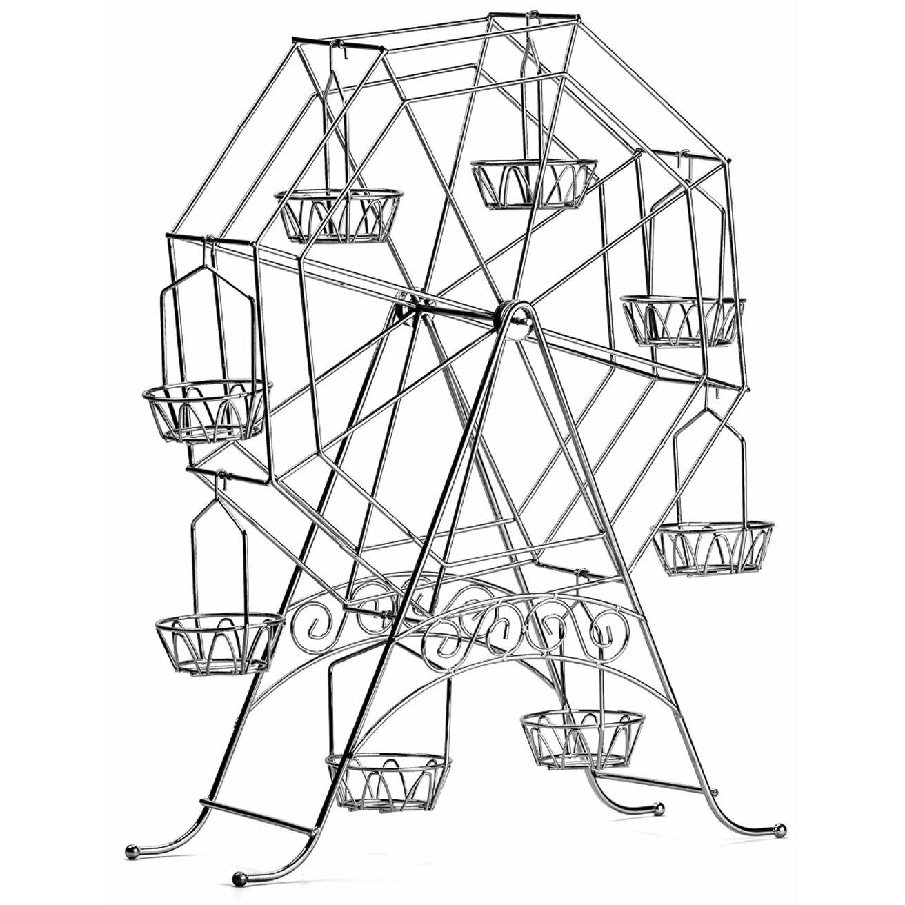 Imperial Home Ferris Wheel Cake Stand Amp Reviews Wayfair