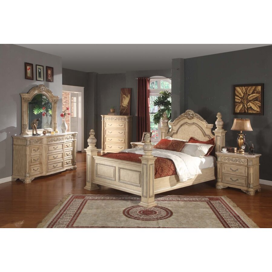 Meridian Furniture USA Sienna Panel Customizable Bedroom Set Reviews
