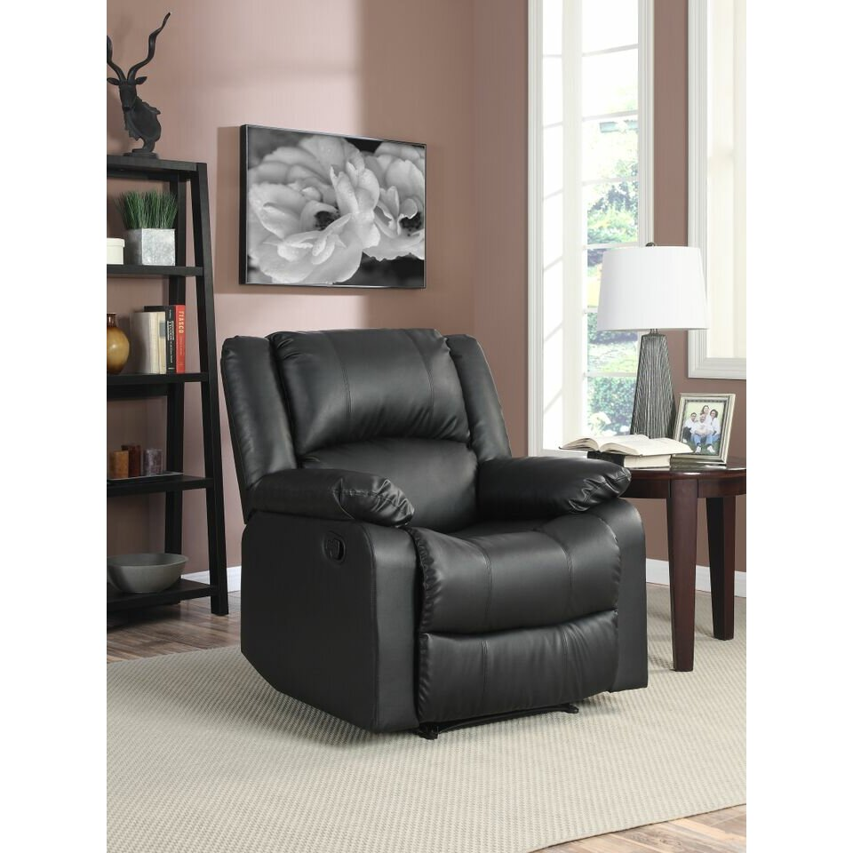 lifestyle solutions warren recliner   reviews wayfair