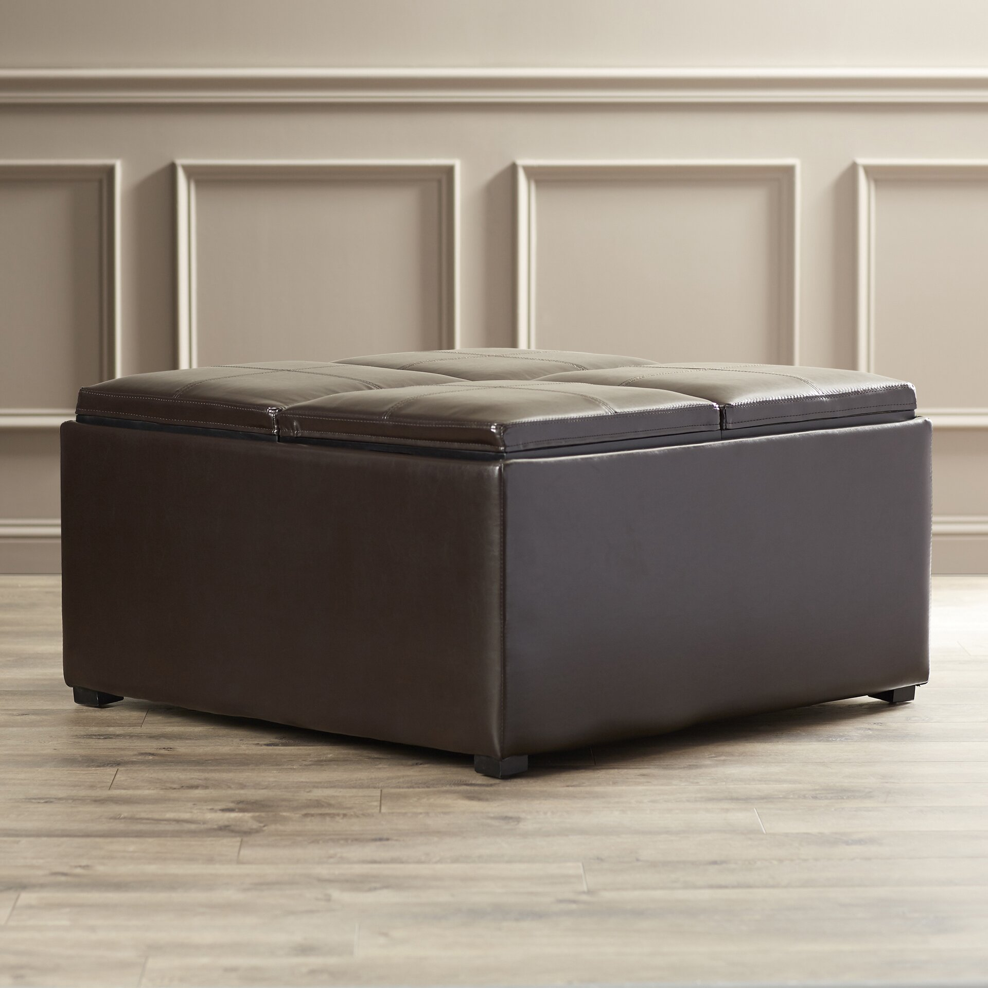 Inflatable Sofa Malta: Darby Home Co Malta Cocktail Ottoman & Reviews