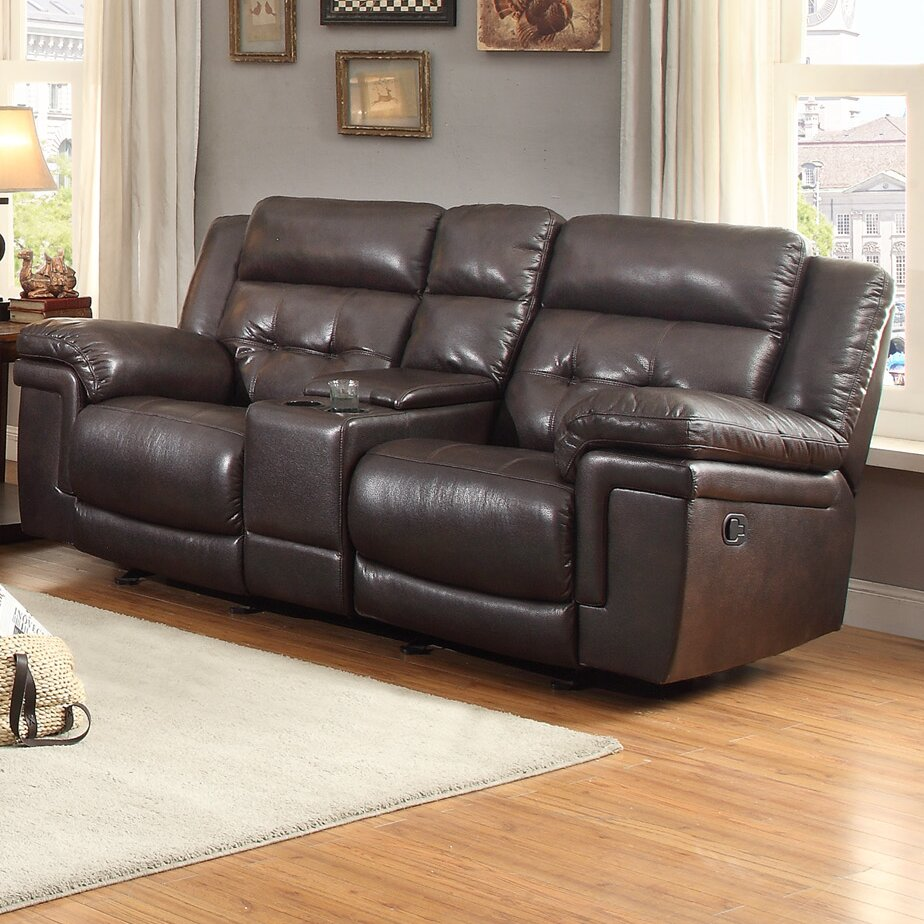 Carriere Glider Reclining Loveseat Wayfair