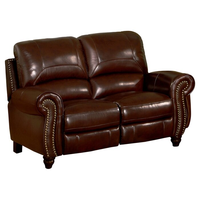 Leather Sectional Sofas Charlotte Nc: Kahle Leather Reclining Loveseat