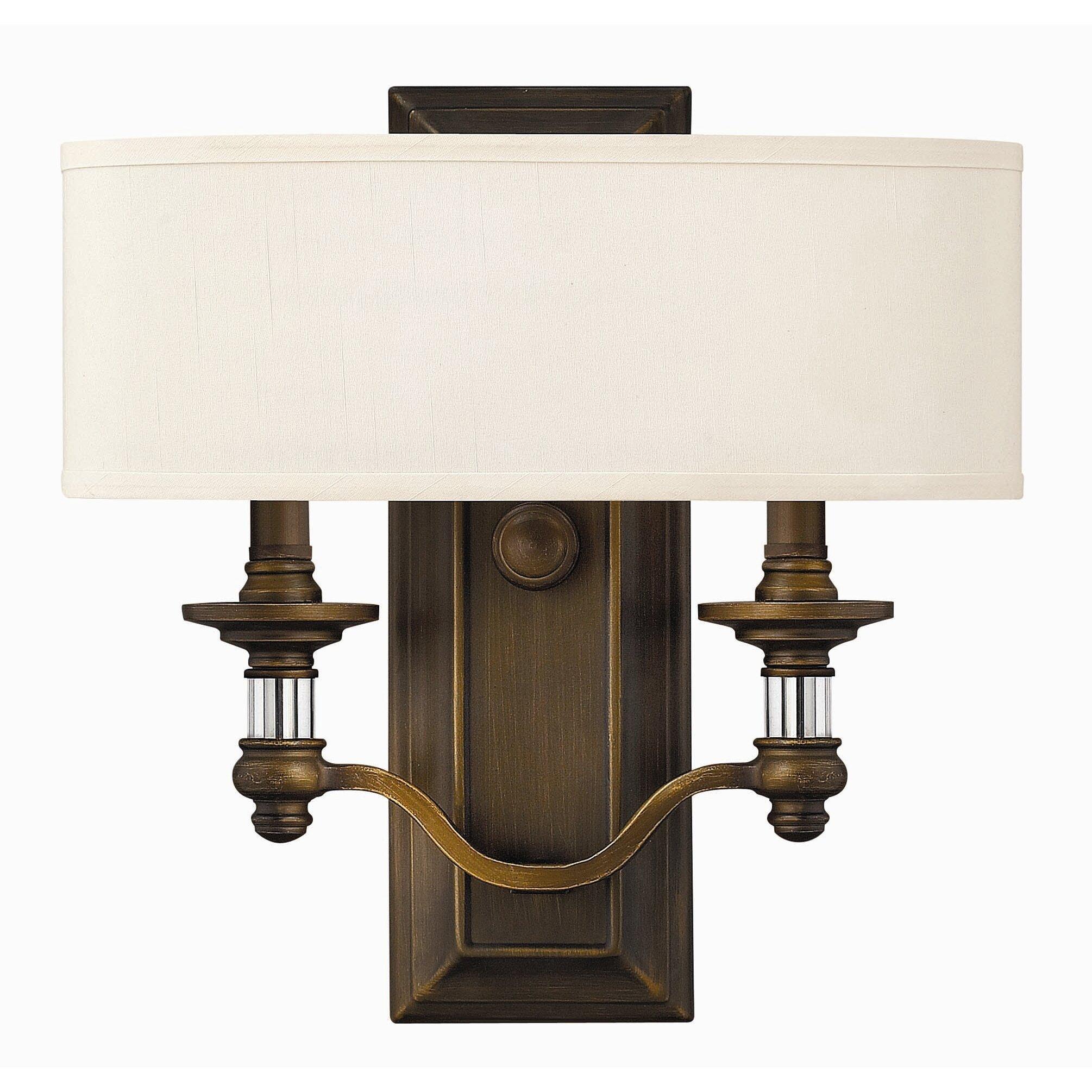 Hinkley Lighting Mercer: Middlebrooks 2 Light Wall Sconce