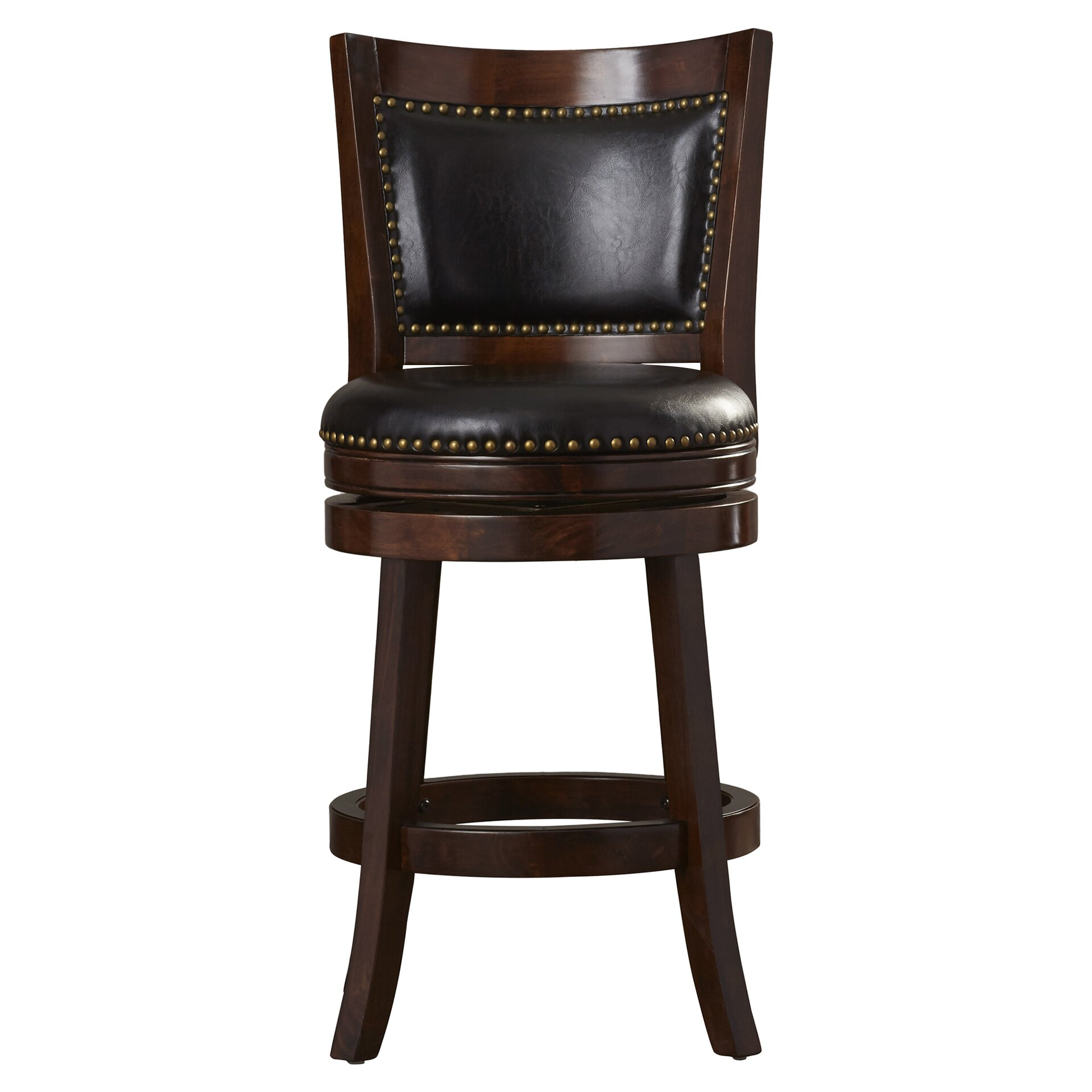 "Darby Home Co Carstensen 24"" Swivel Bar Stool & Reviews"