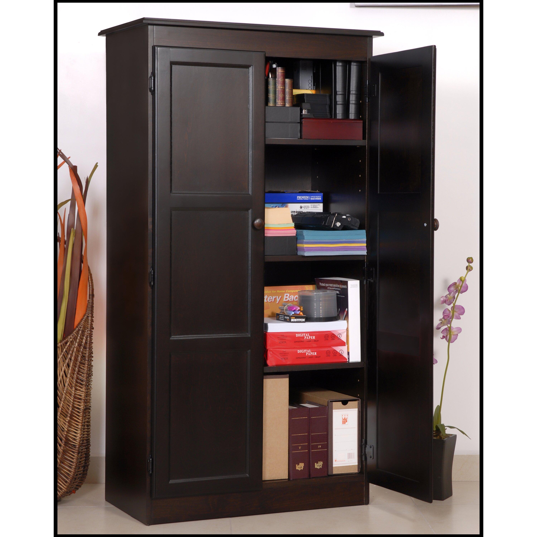 darby home co fellers 2 door storage cabinet reviews wayfair. Black Bedroom Furniture Sets. Home Design Ideas