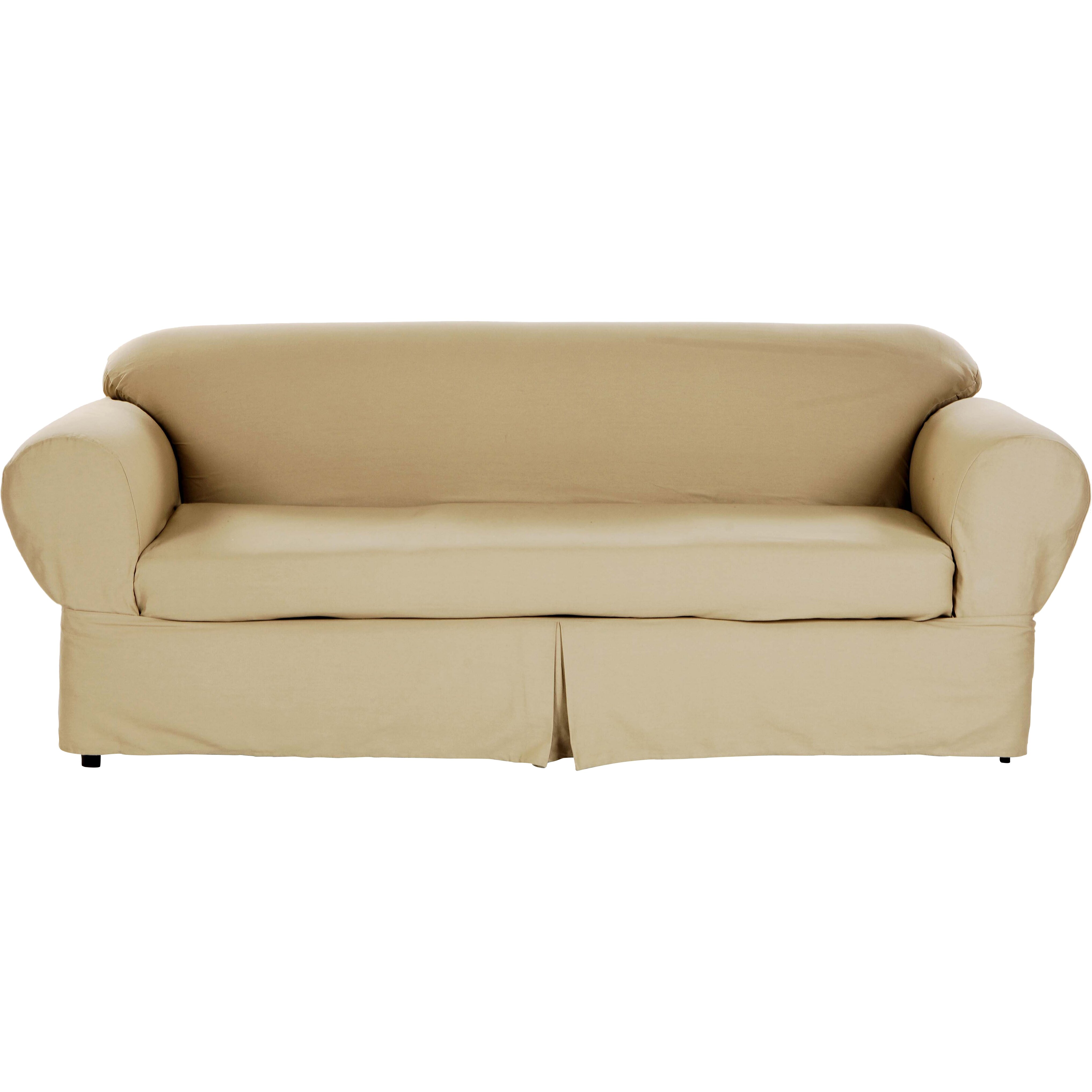 darby home co sofa slipcover reviews wayfair. Black Bedroom Furniture Sets. Home Design Ideas