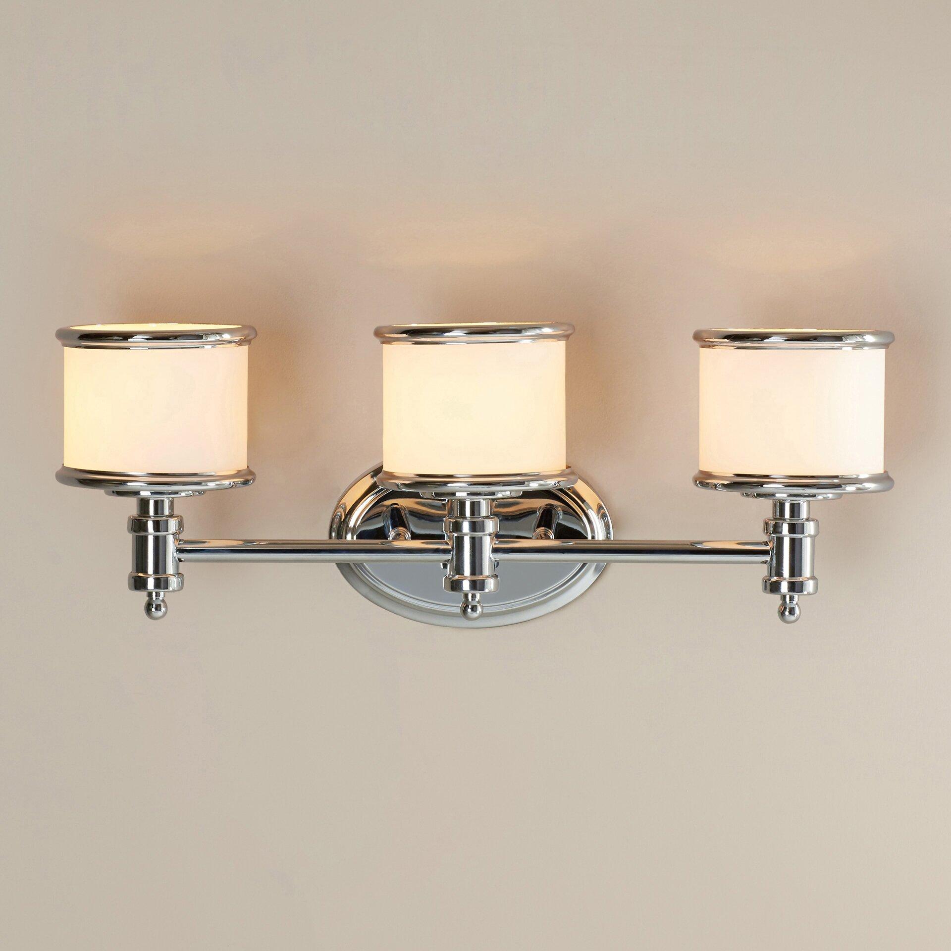 Darby Home Co Bogan 3 Light Vanity Light Amp Reviews Wayfair