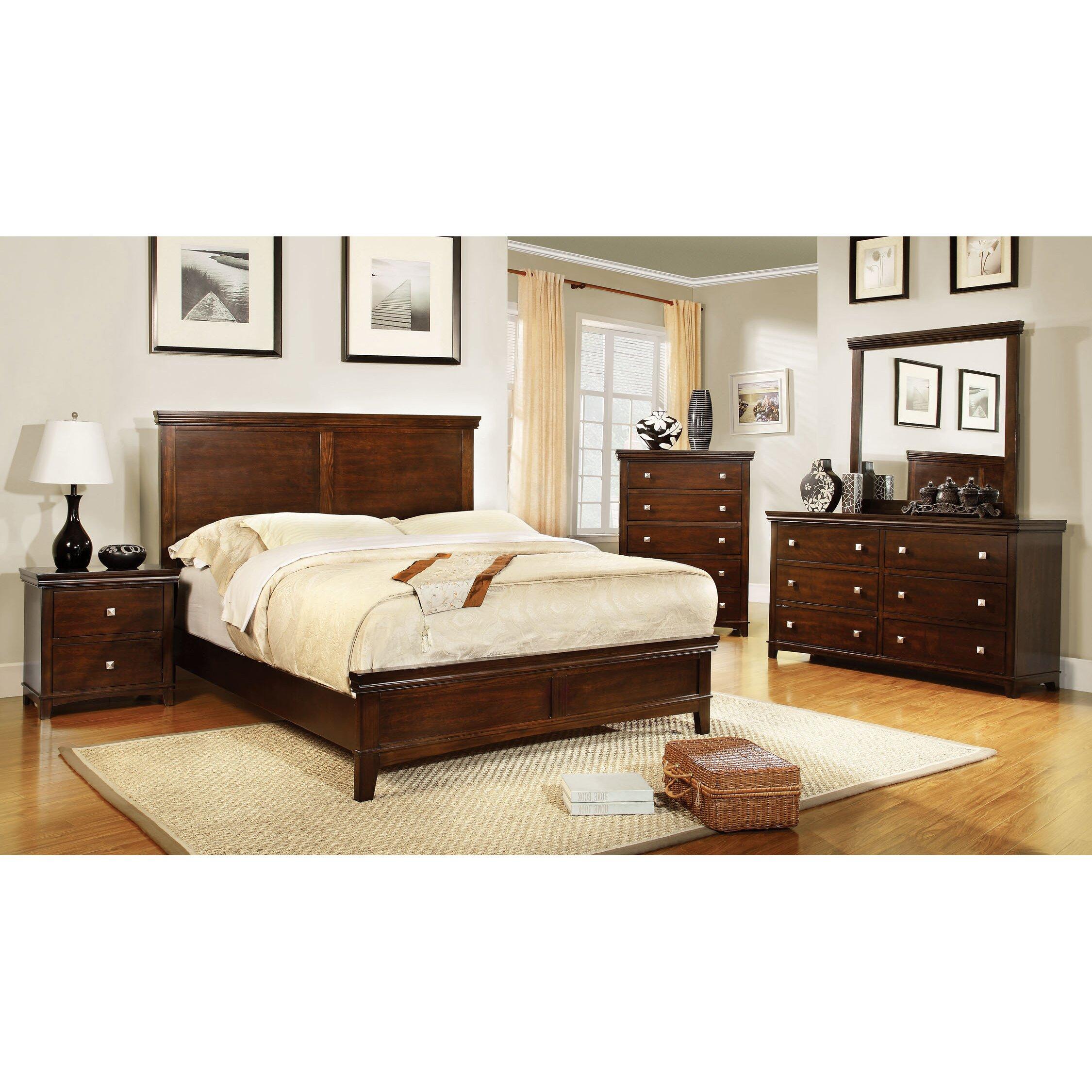 Wayfair Bedroom Furniture: Darby Home Co Platform Customizable Bedroom Set & Reviews