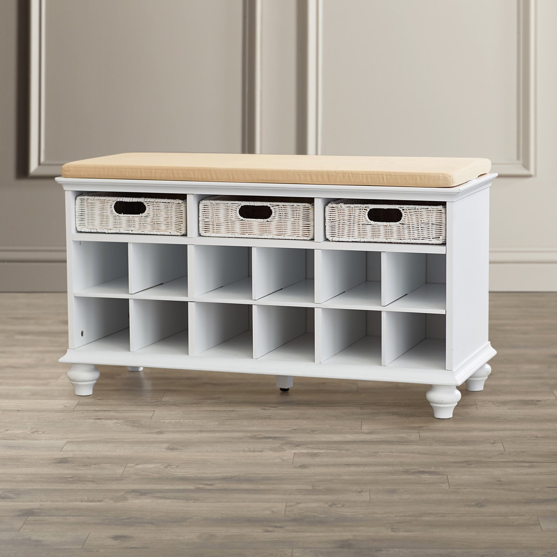 Darby Home Co Shoe Storage Bench & Reviews | Wayfair