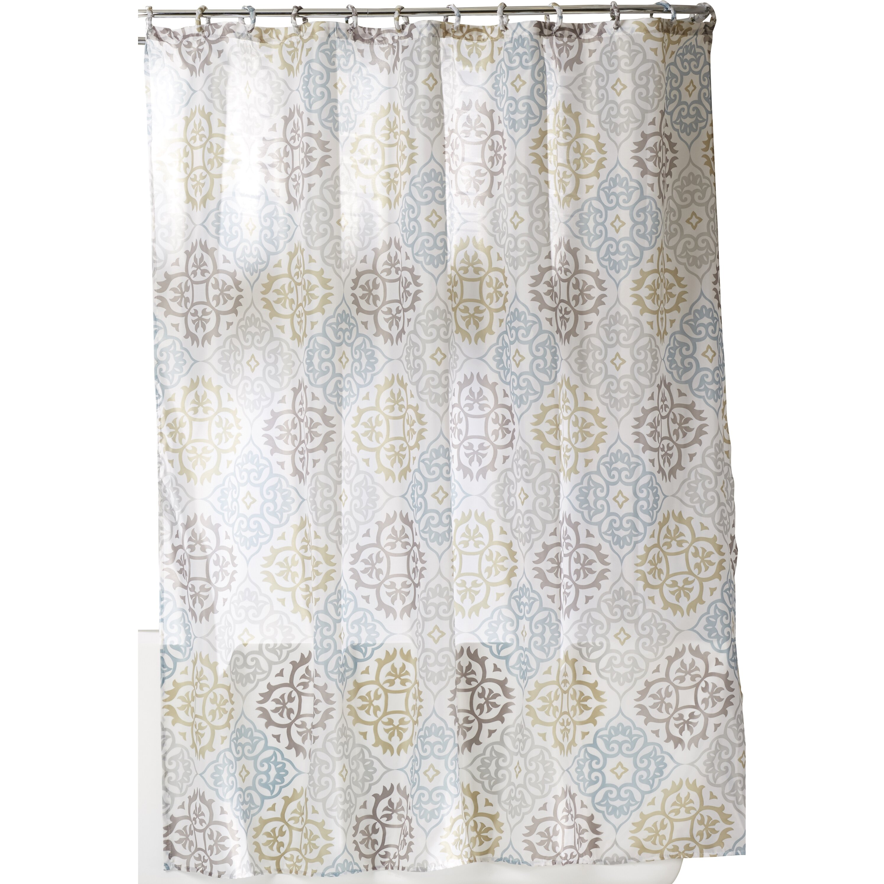 darby home co goldston shower curtain set reviews wayfair
